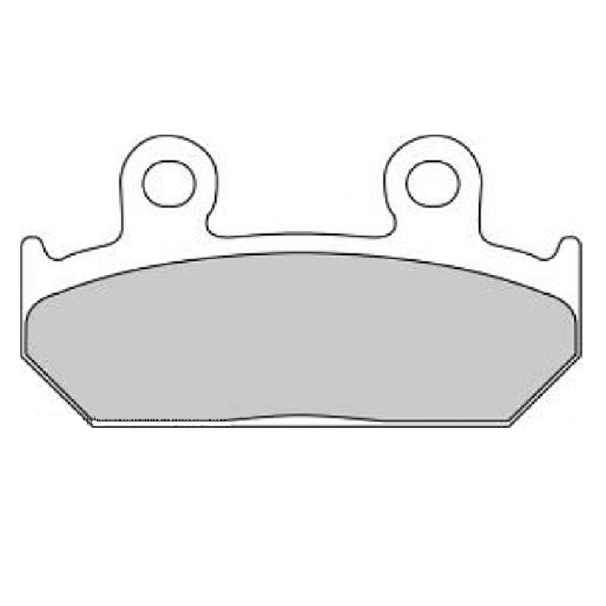 Тормозные колодки дисковые, FERODO(FDB462P)