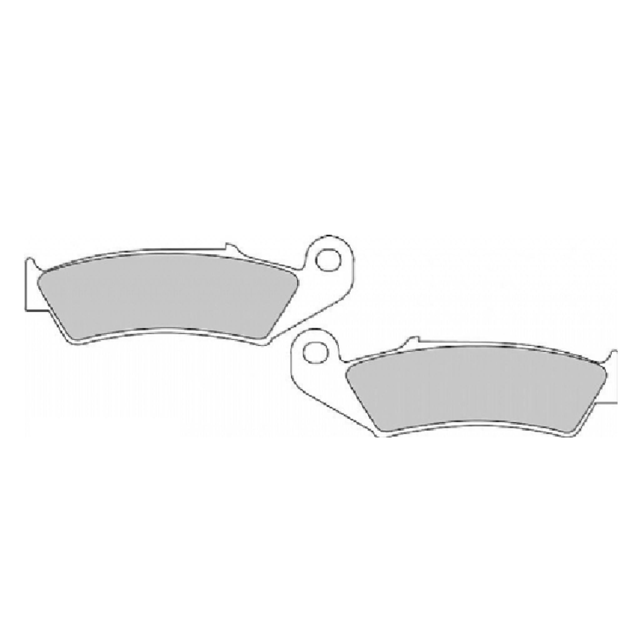 Тормозные колодки дисковые, FERODO(FDB495P)