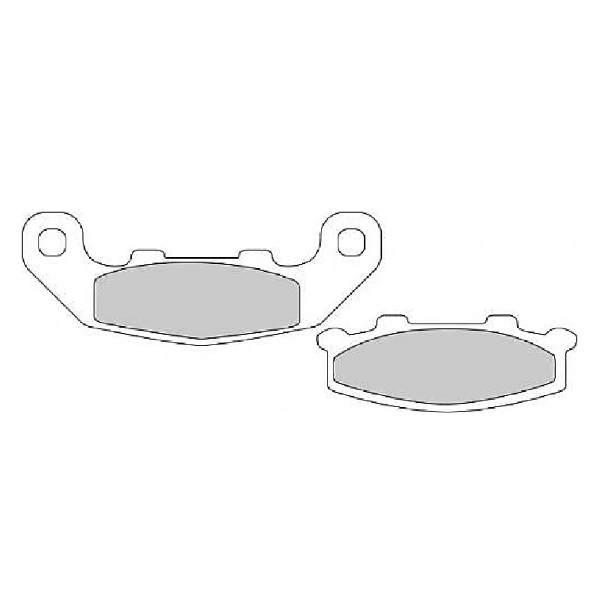 Тормозные колодки дисковые, FERODO(FDB508P)