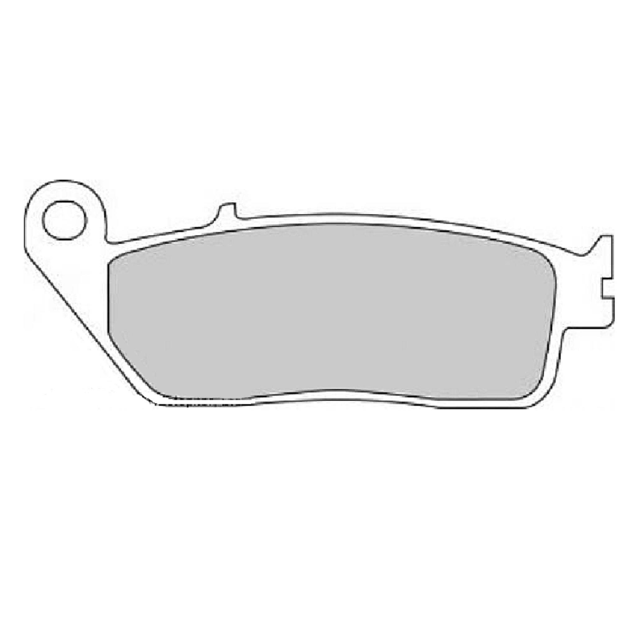 Тормозные колодки дисковые, FERODO(FDB570SM)