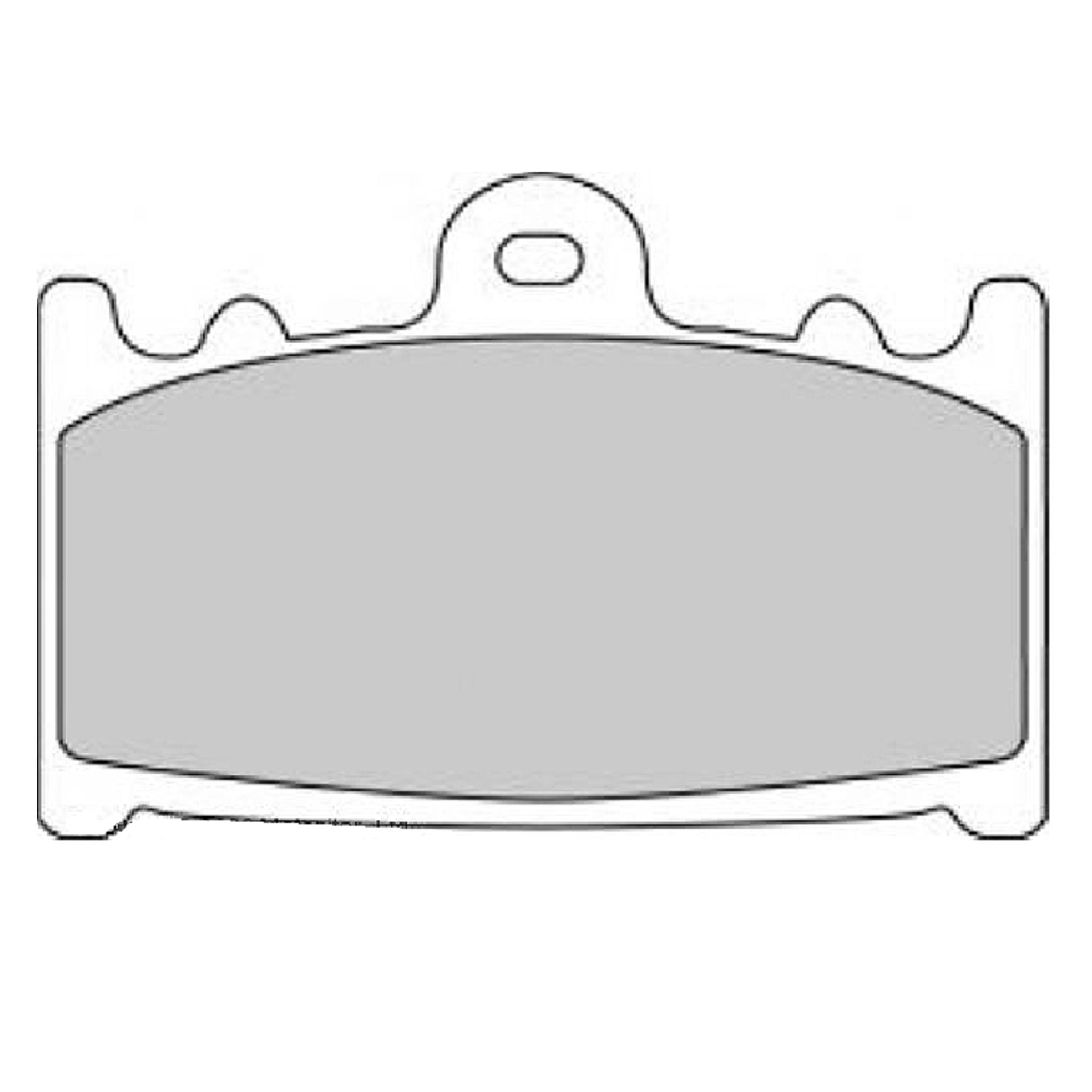 Тормозные колодки дисковые, FERODO(FDB574ST)