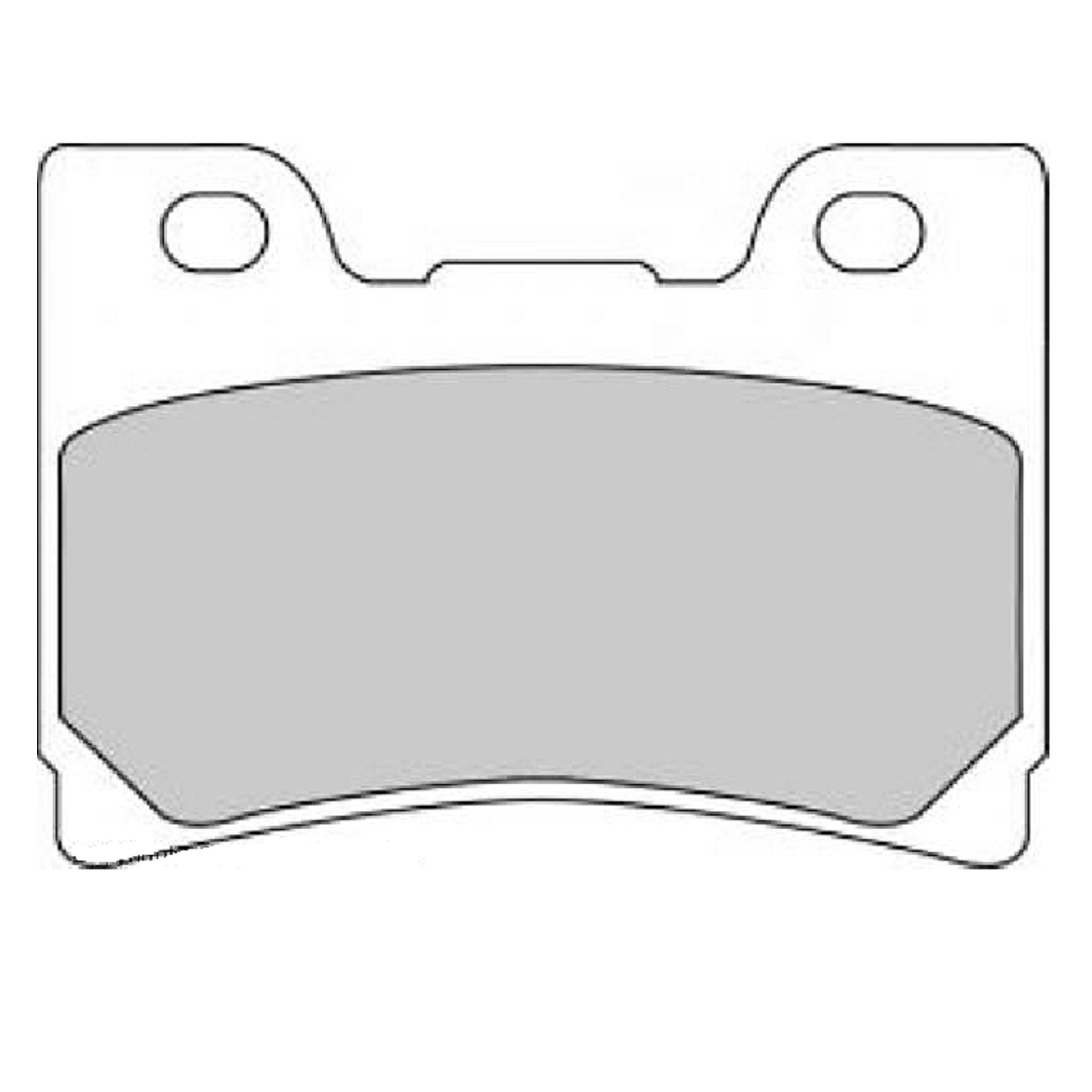 Тормозные колодки дисковые, FERODO(FDB637P)