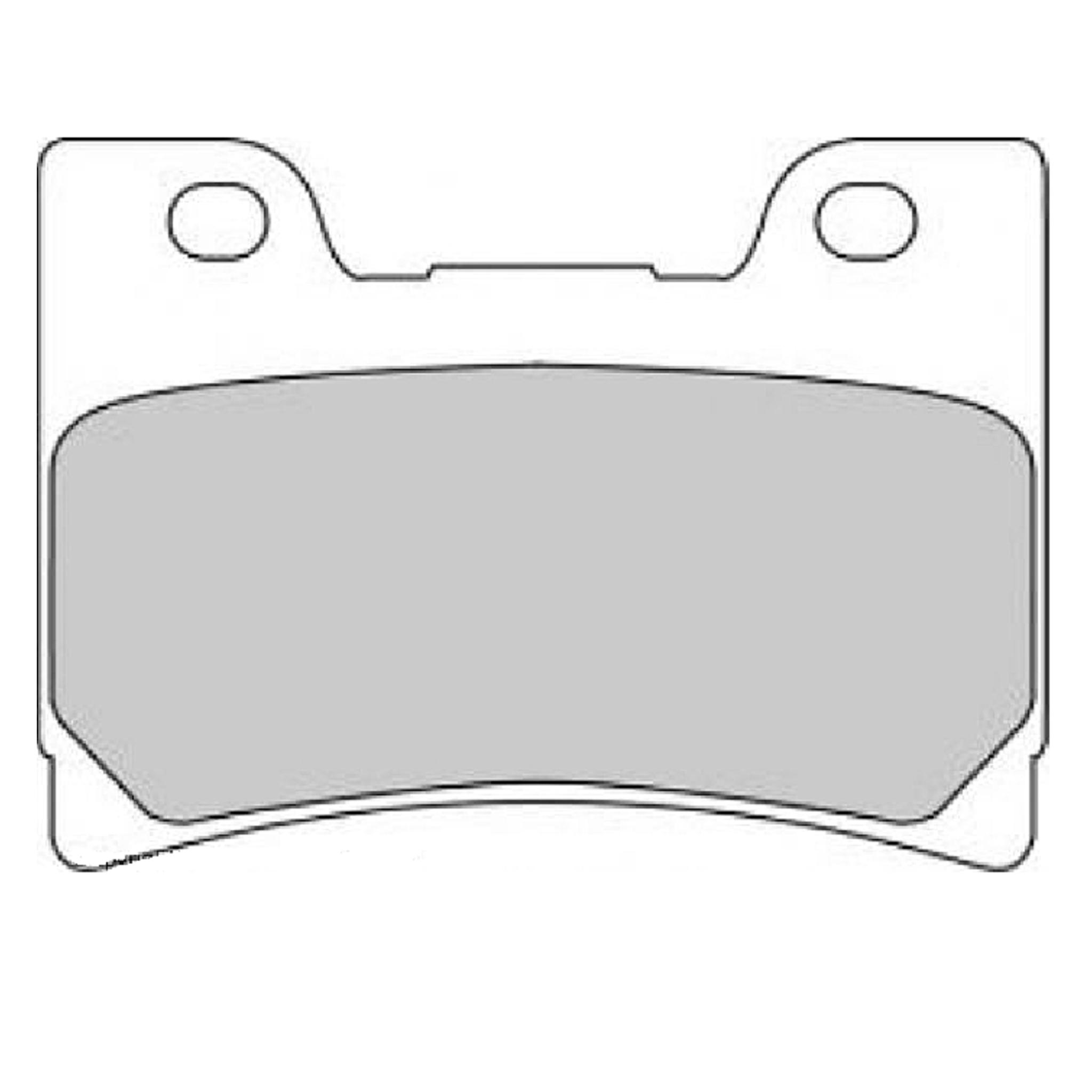 Тормозные колодки дисковые, FERODO(FDB666P)