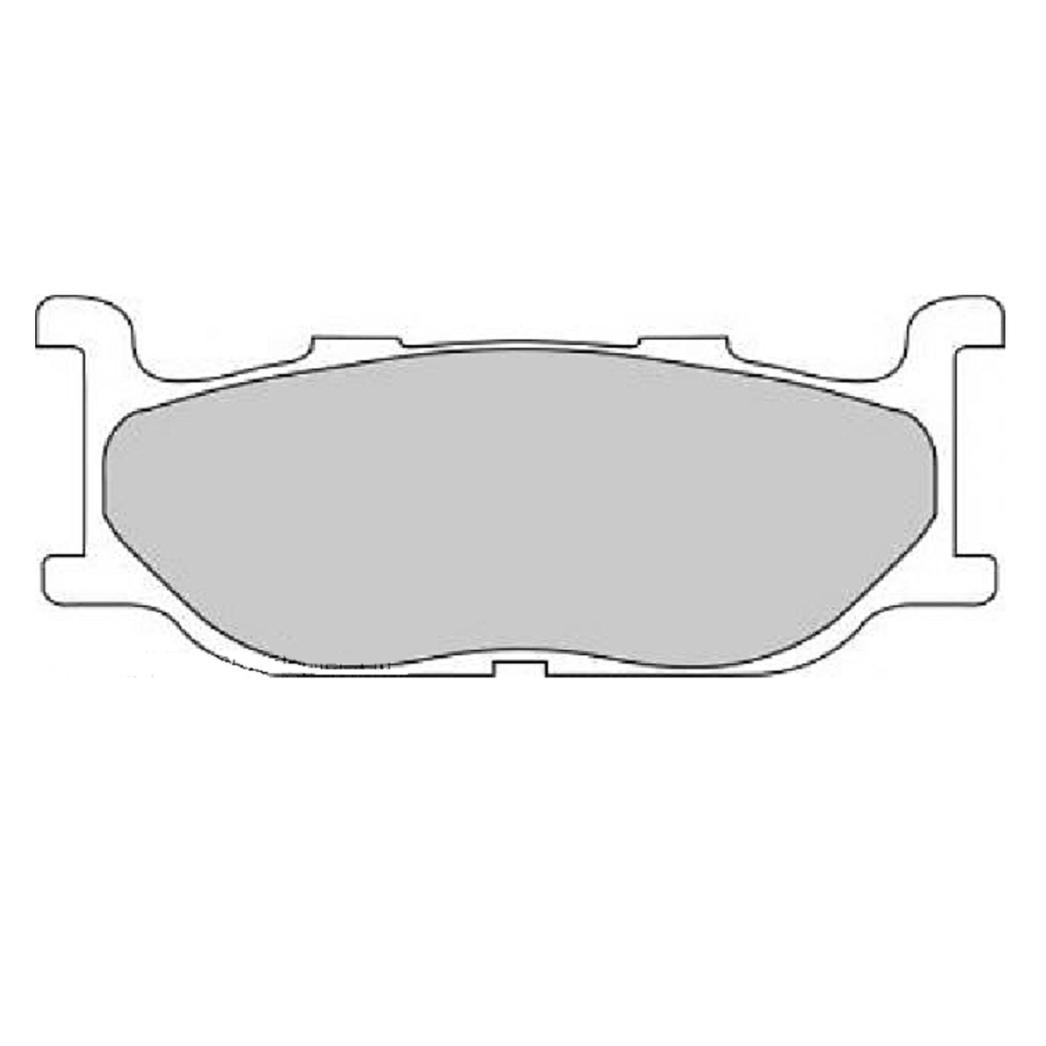 Тормозные колодки дисковые, FERODO(FDB781ST)