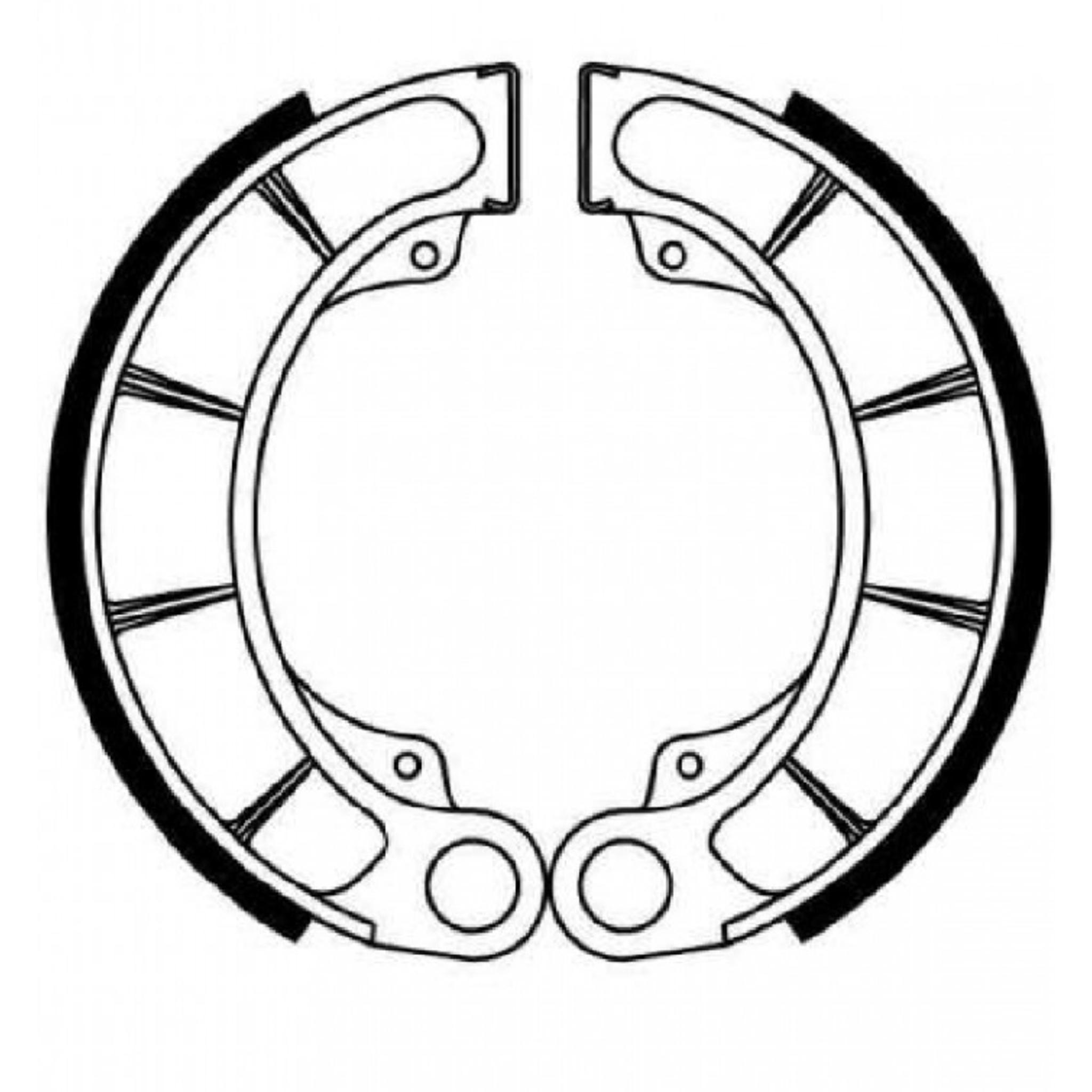 Тормозные колодки барабанные, FERODO(FSB711)