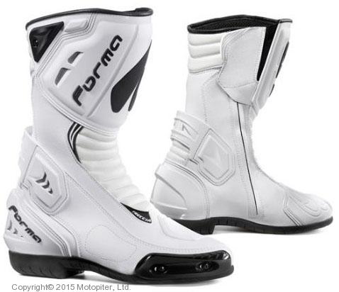 Спортивные мотоботы FRECCIA белые.
