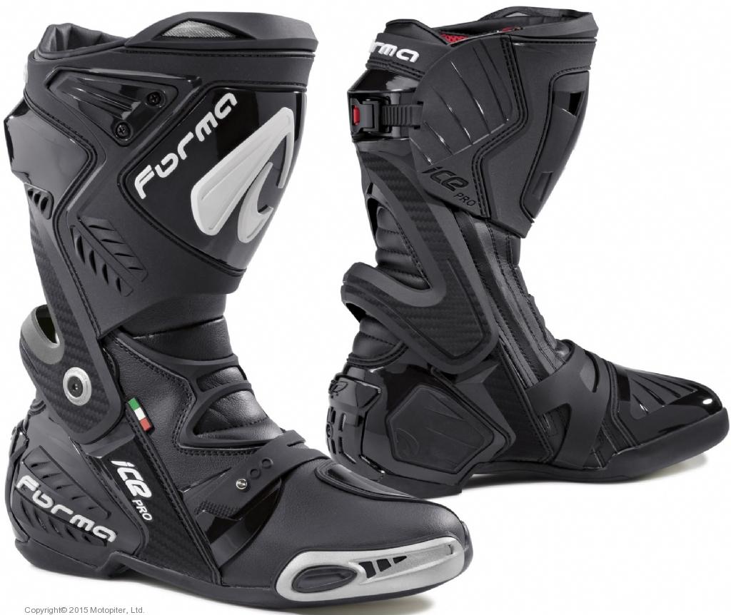 Ботинки ICE PRO черные