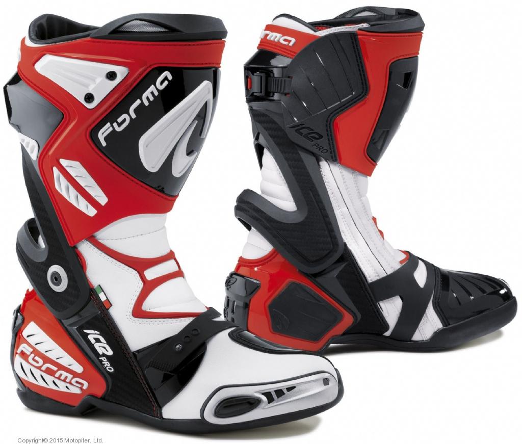 Ботинки ICE PRO красные