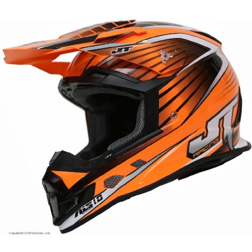 Шлем кроссовый  ALS1.0 оранжевый