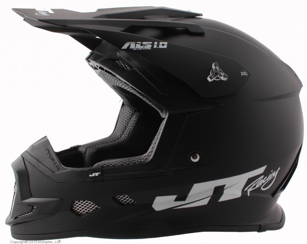 Шлем кроссовый  ALS1.0 черный