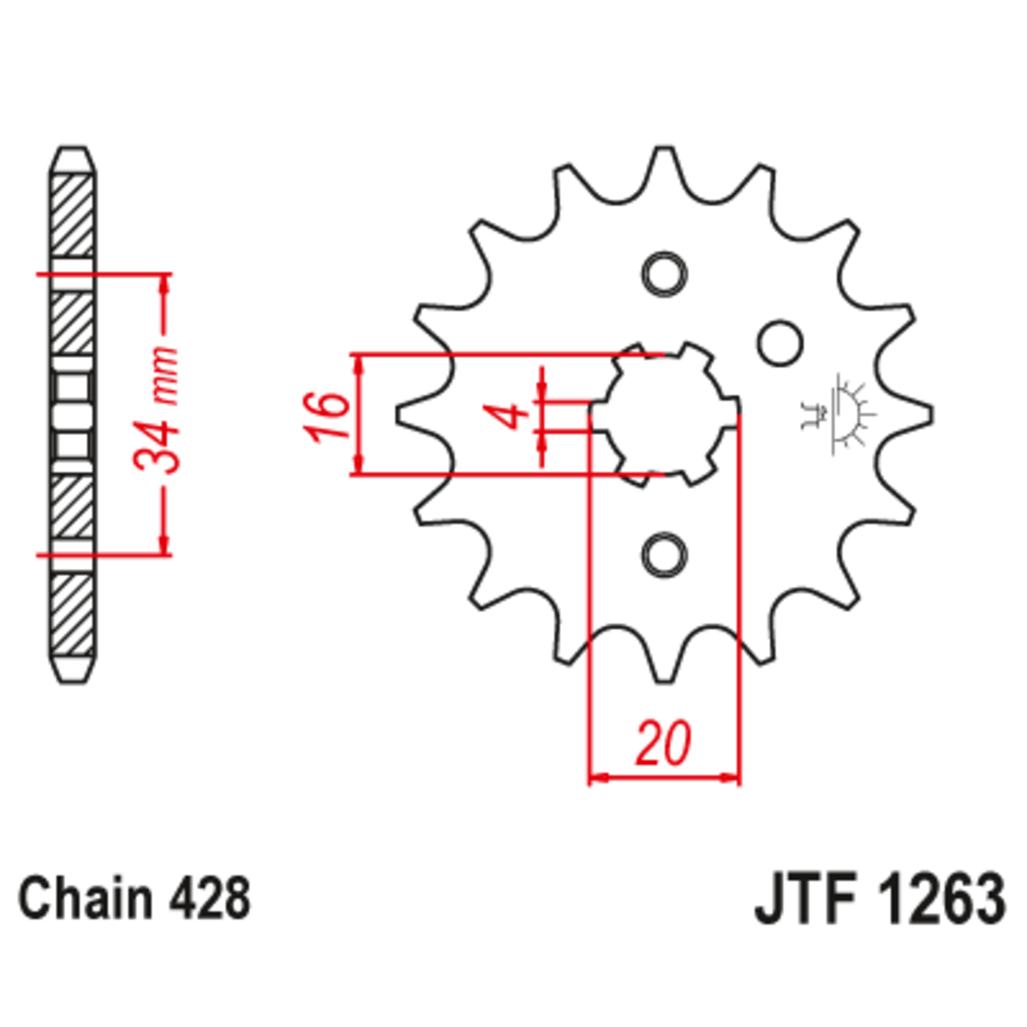 Звезда ведущая , JT 1263.15