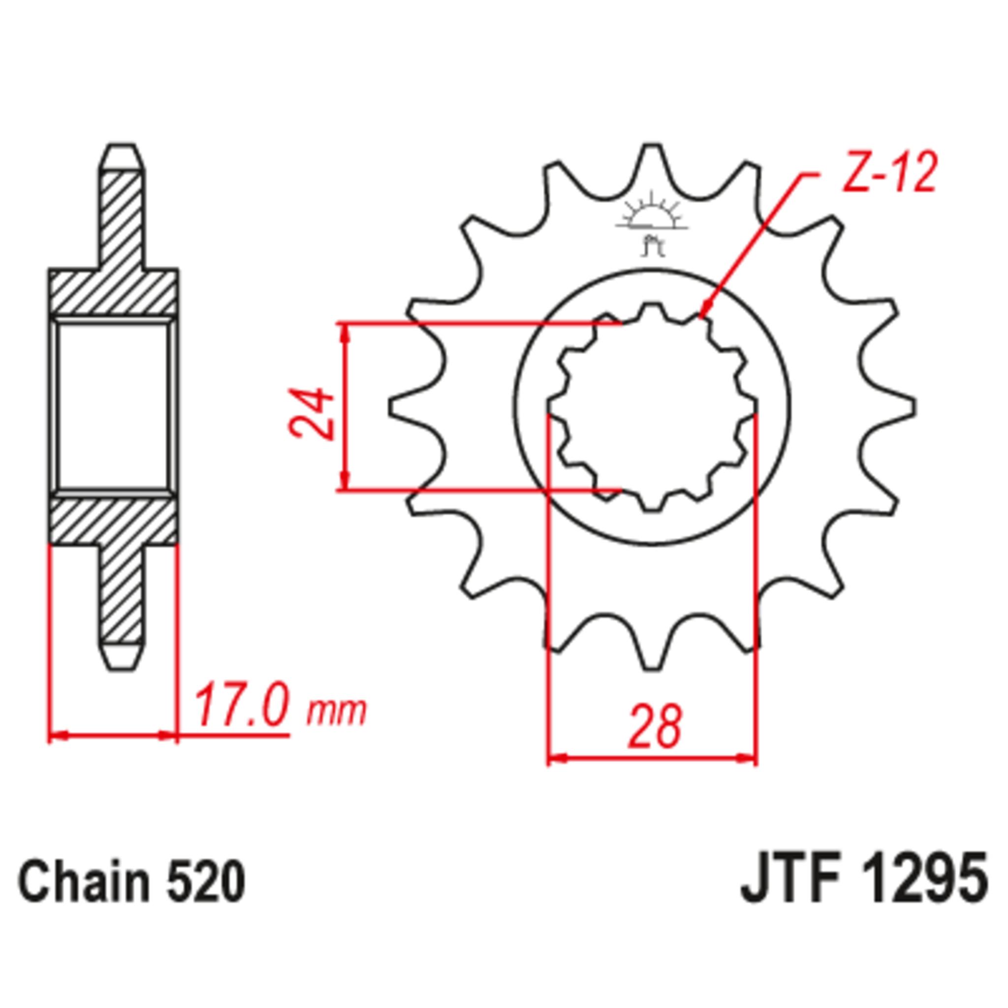 Звезда ведущая , JT 1295.15