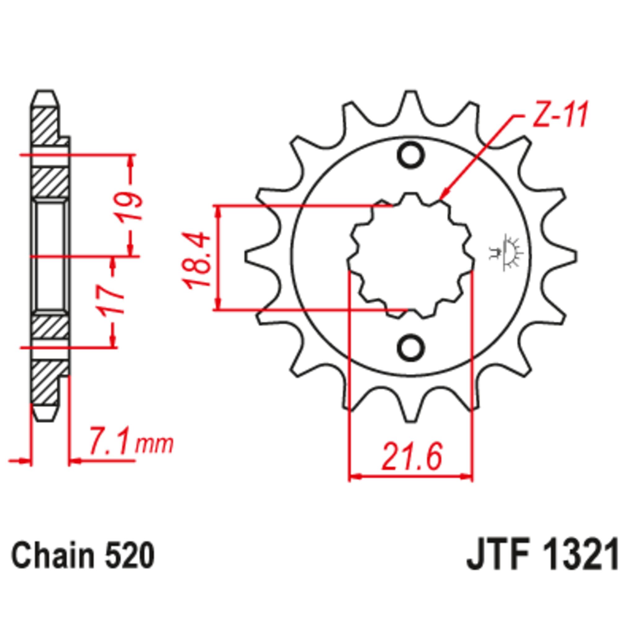 Звезда ведущая , JT 1321.13