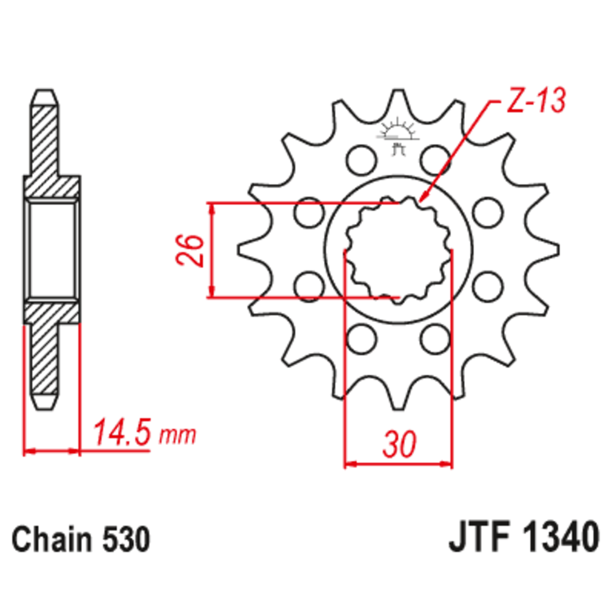 Звезда ведущая , JT 1340.18
