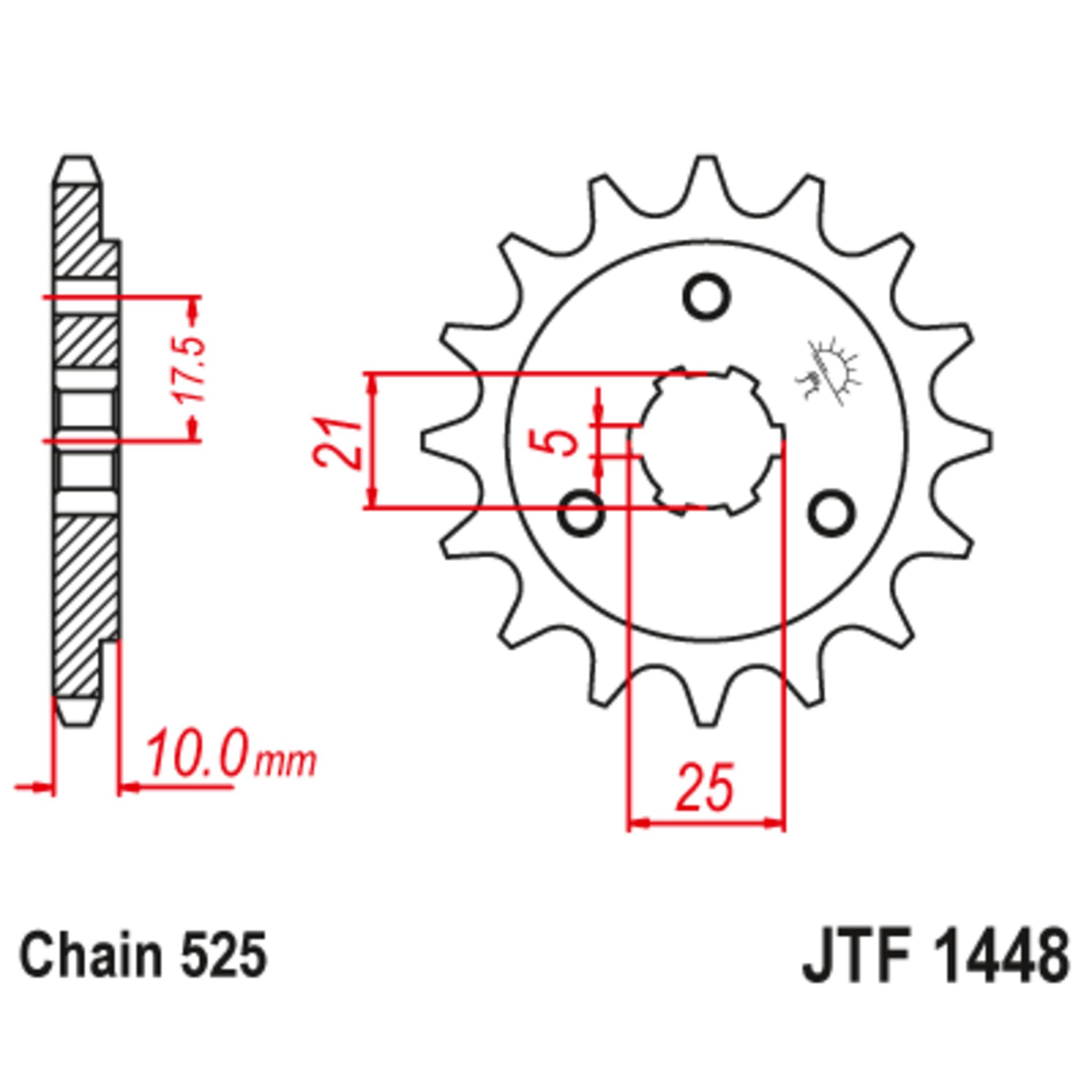 Звезда ведущая , JT 1448.14