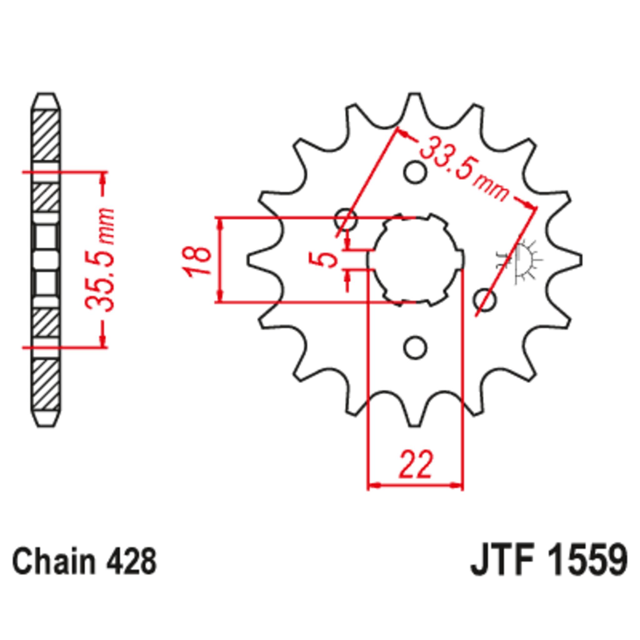 Звезда ведущая , JT 1559.14