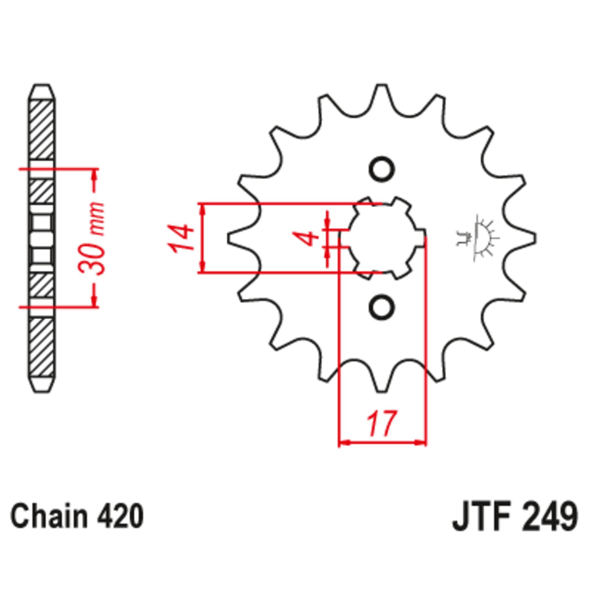 Звезда ведущая , JT 249.13