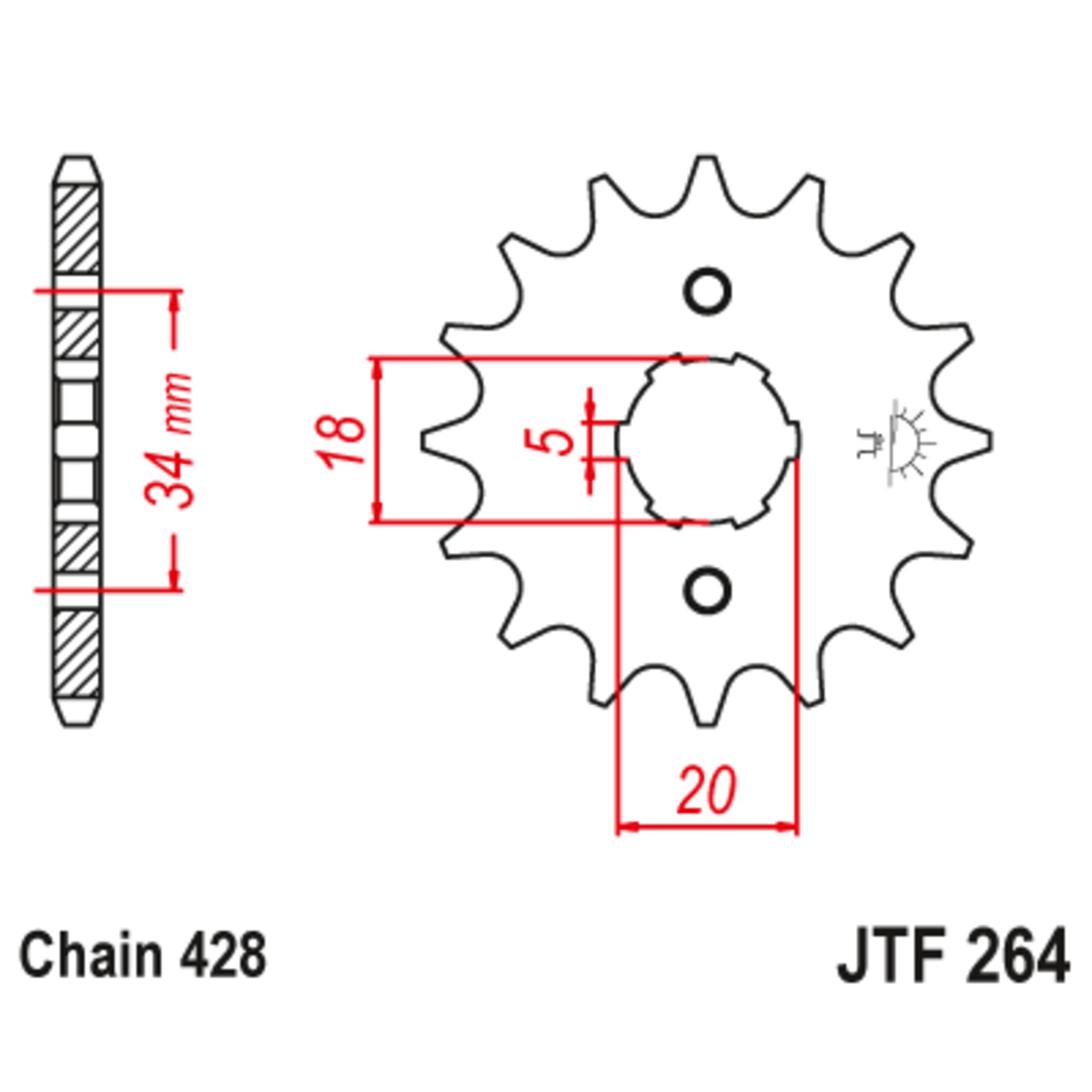 Звезда ведущая , JT 264.15