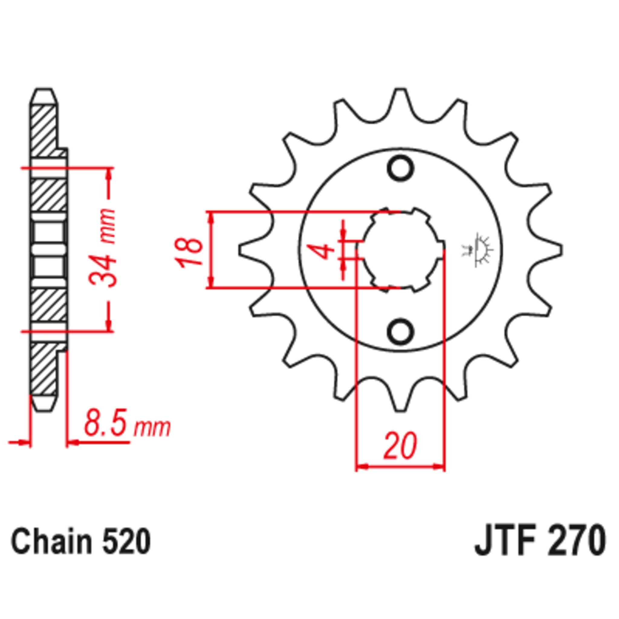 Звезда ведущая , JT 270.14
