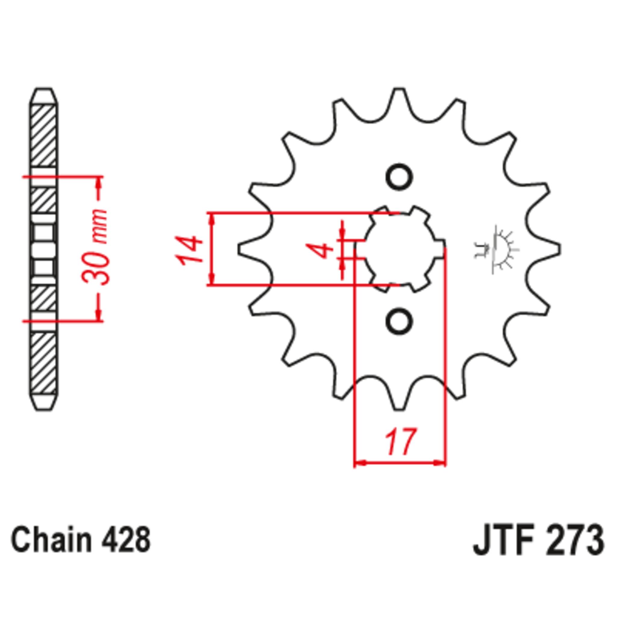 Звезда ведущая , JT 273.14