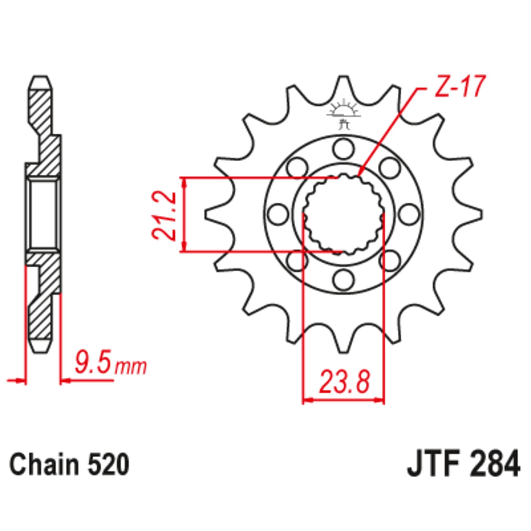 Звезда ведущая , JT 284.15