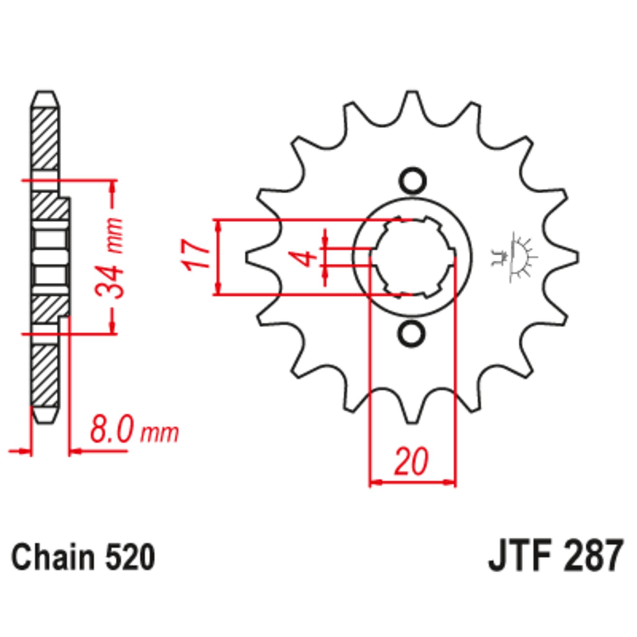 Звезда ведущая , JT 287.14