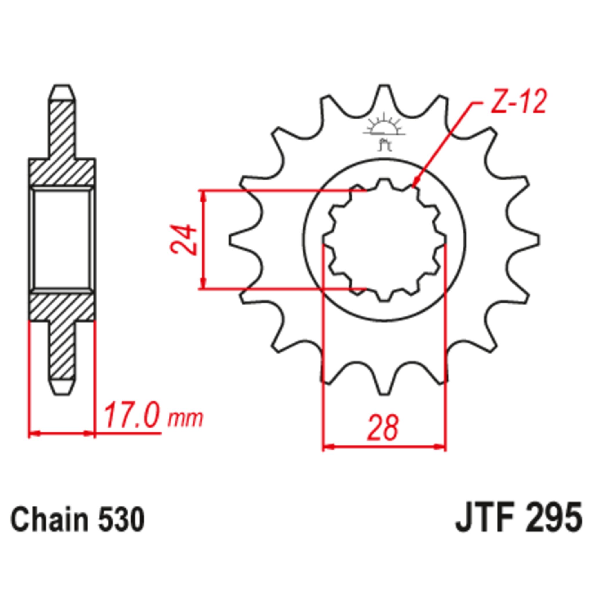 Звезда ведущая , JT 295.16