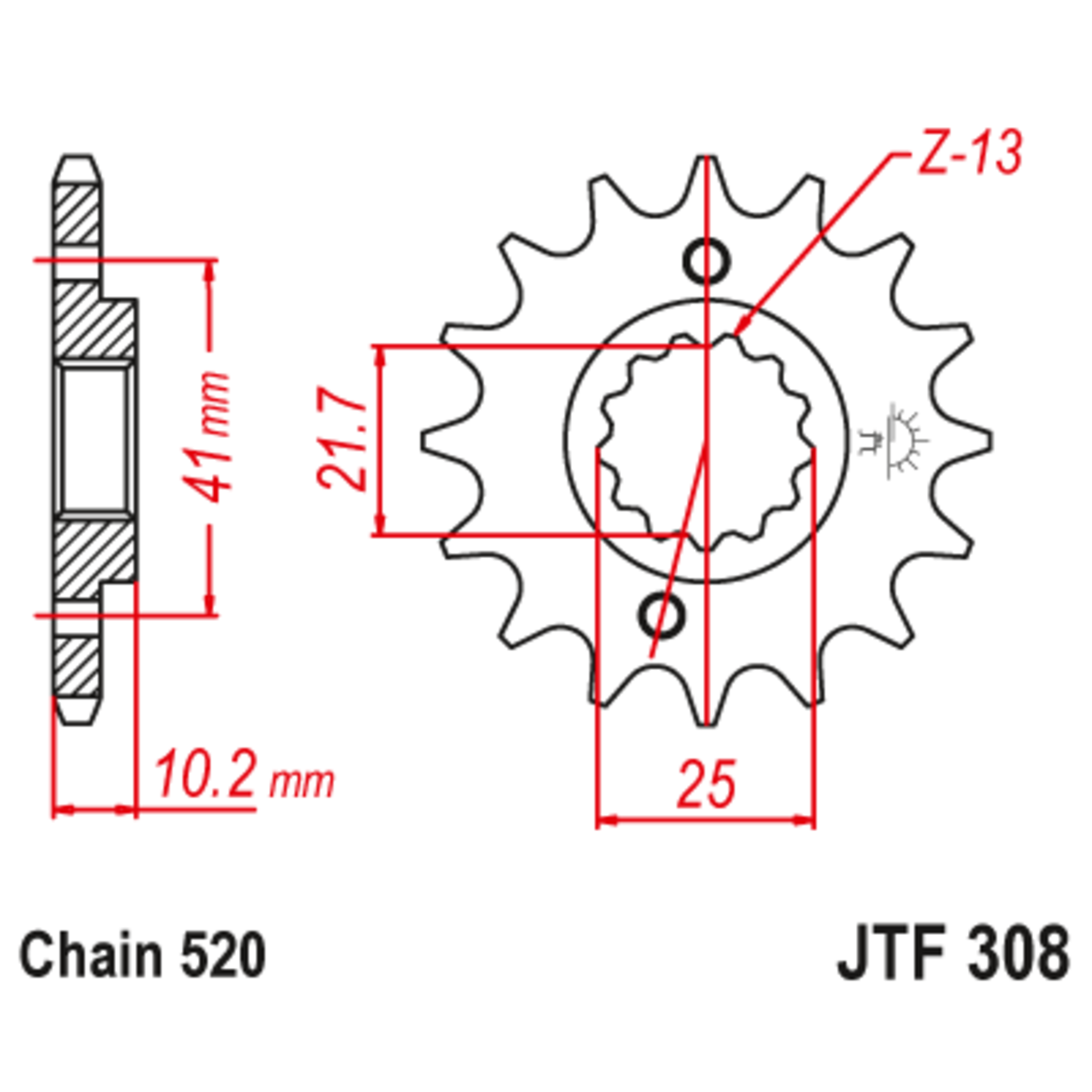 Звезда ведущая , JT 308.15