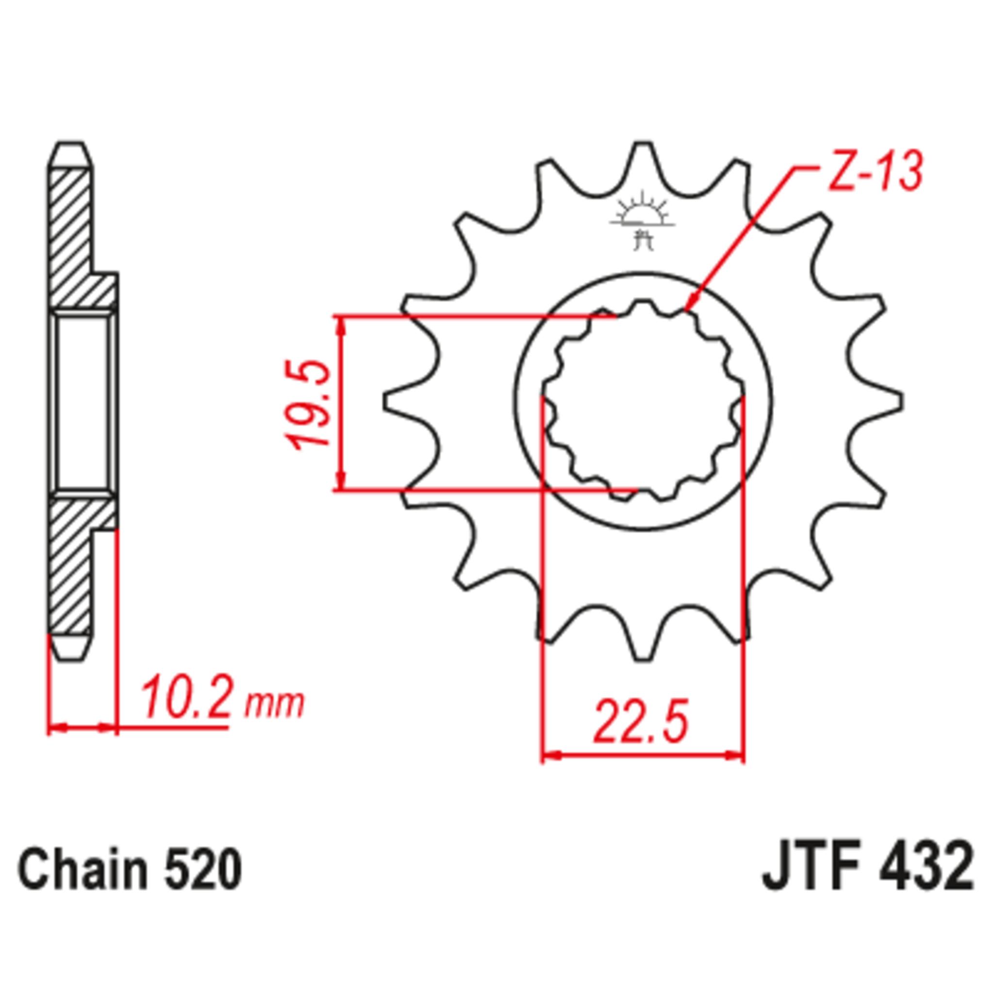Звезда ведущая , JT 432.11