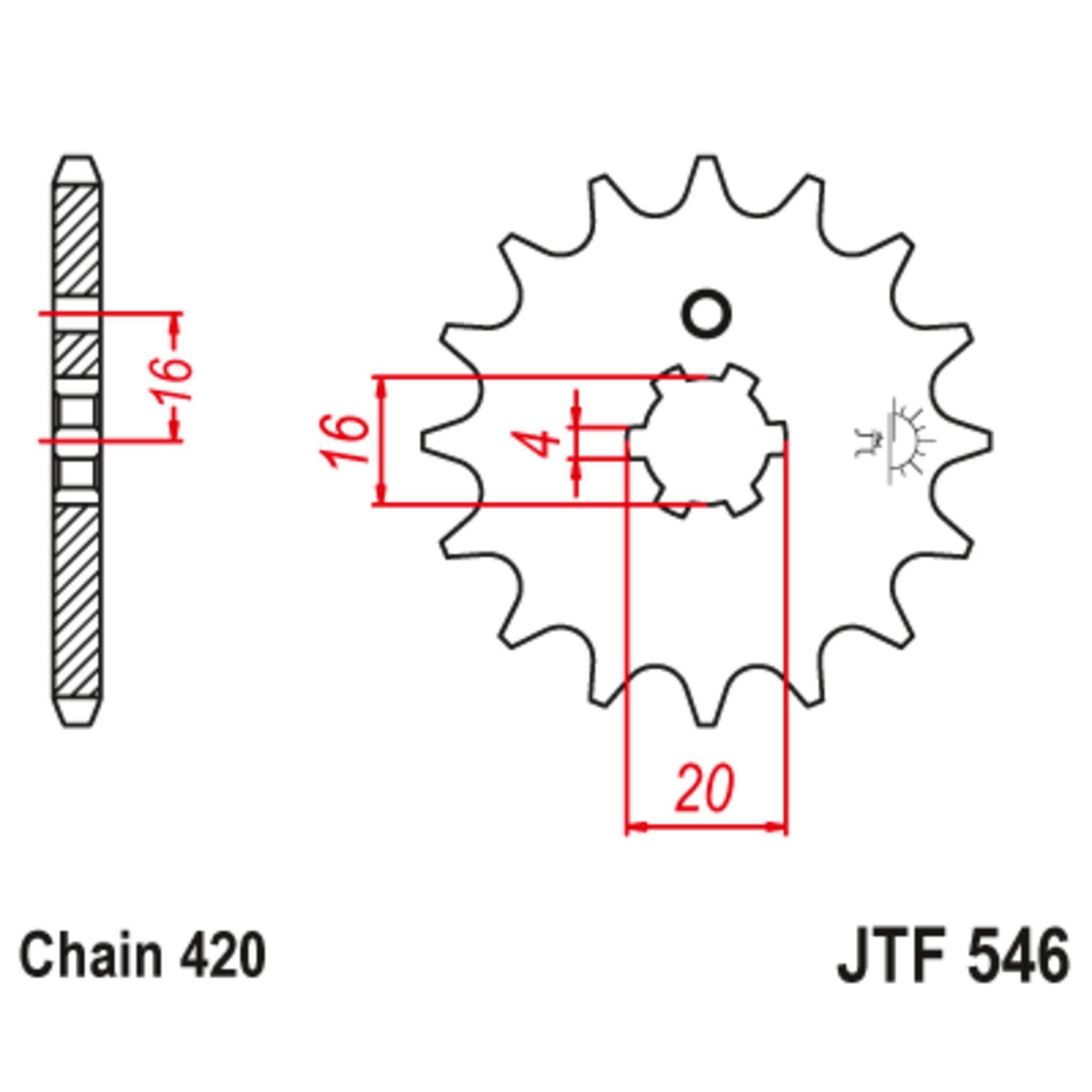 Звезда ведущая , JT 546.12
