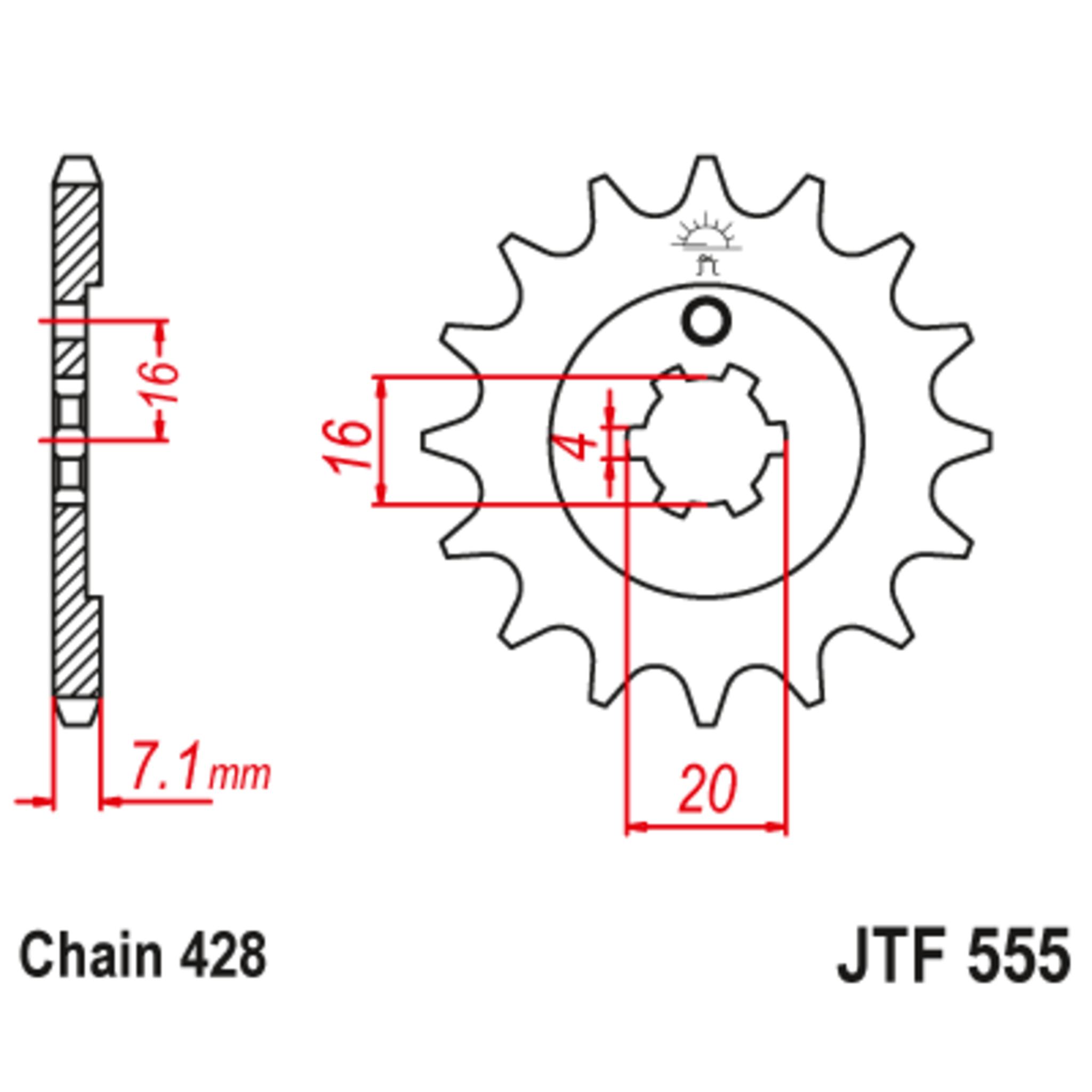 Звезда ведущая , JT 555.15