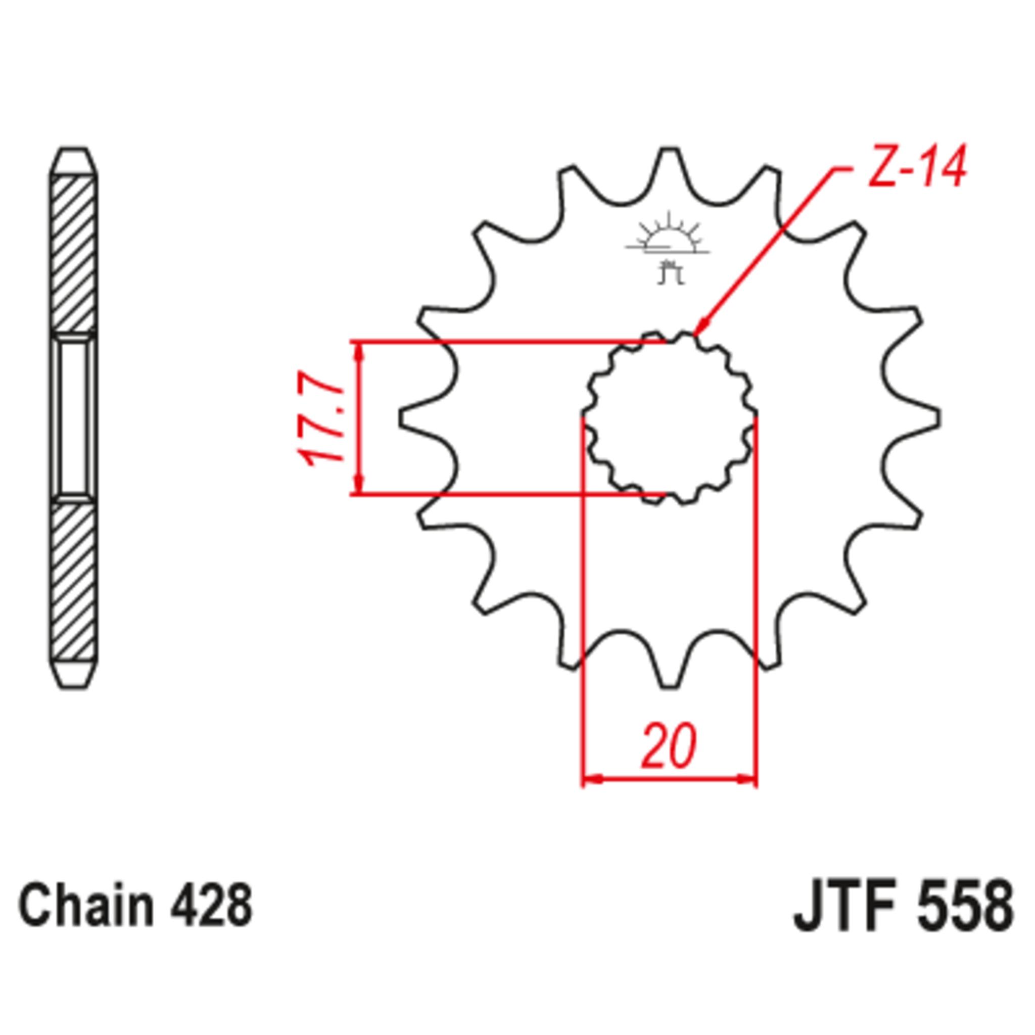 Звезда ведущая , JT 558.14