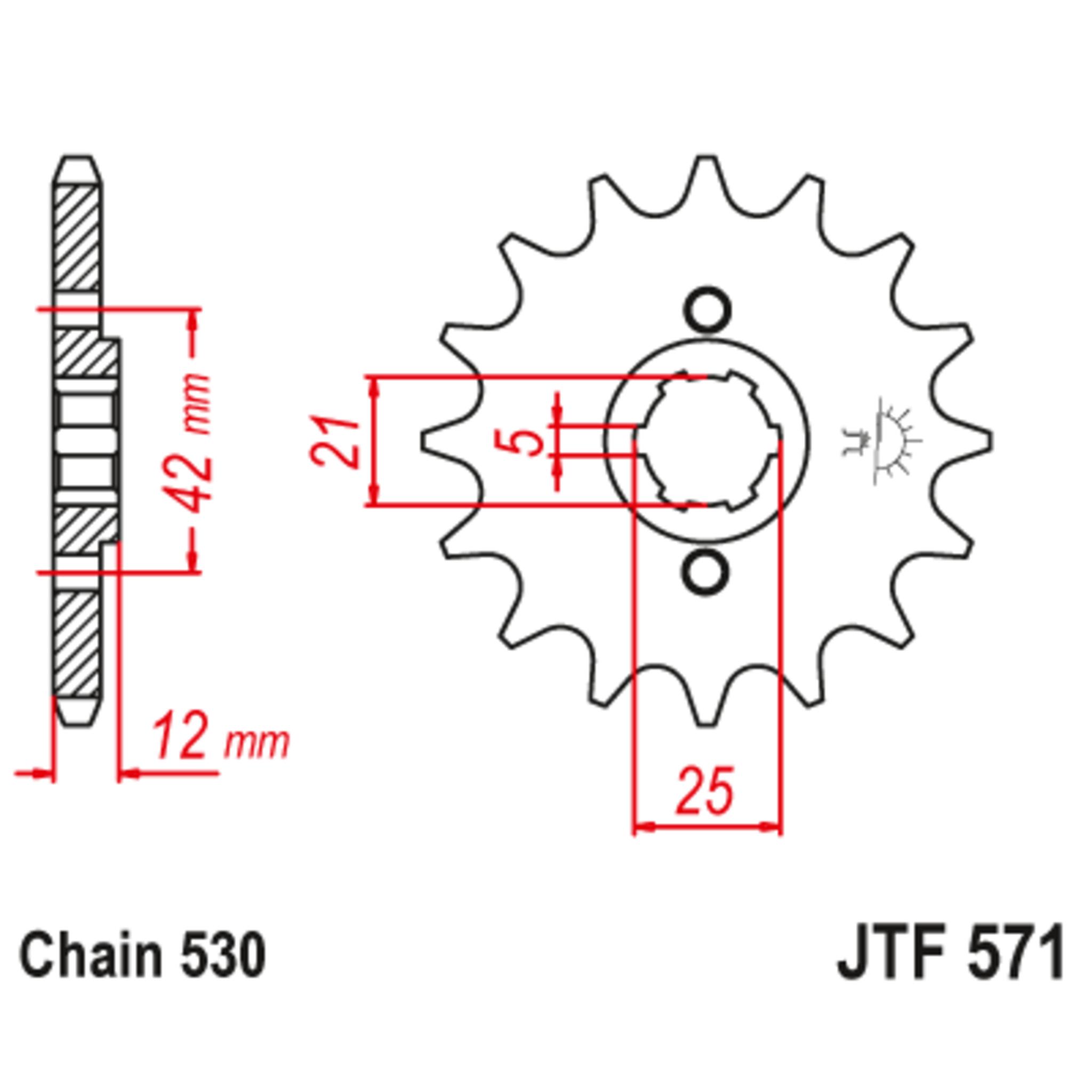 Звезда ведущая , JT 571.16