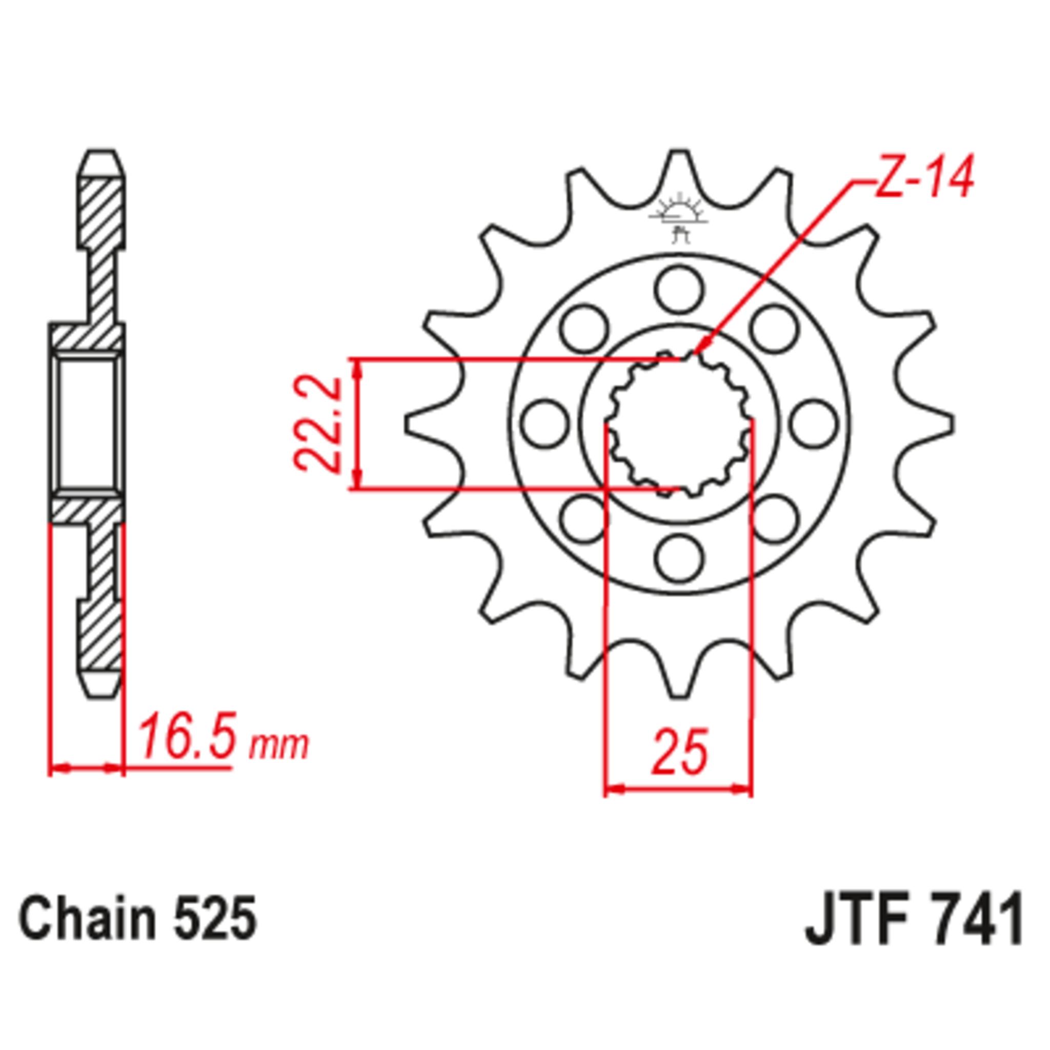 Звезда ведущая , JT 741.15