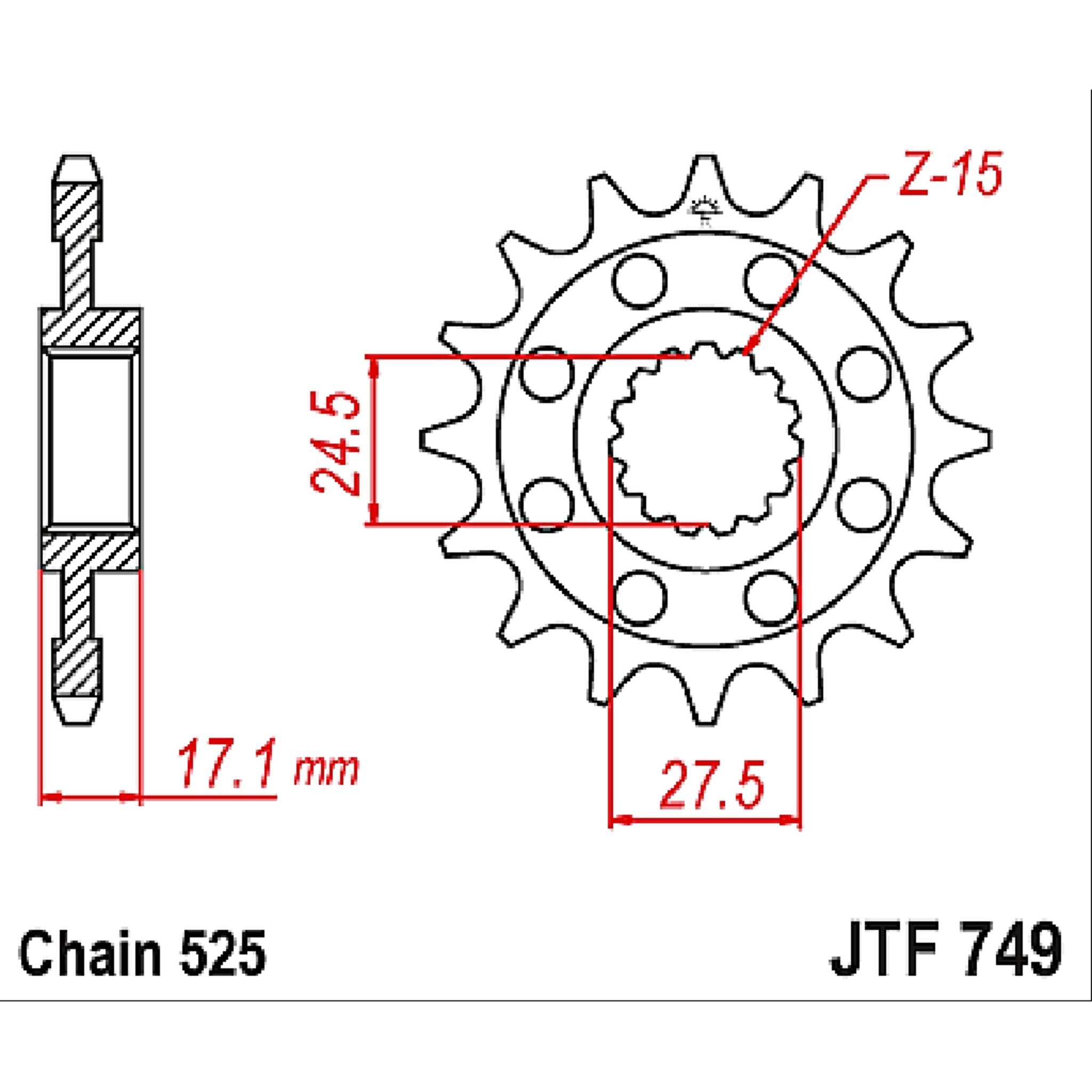 Звезда ведущая , JT 749.15