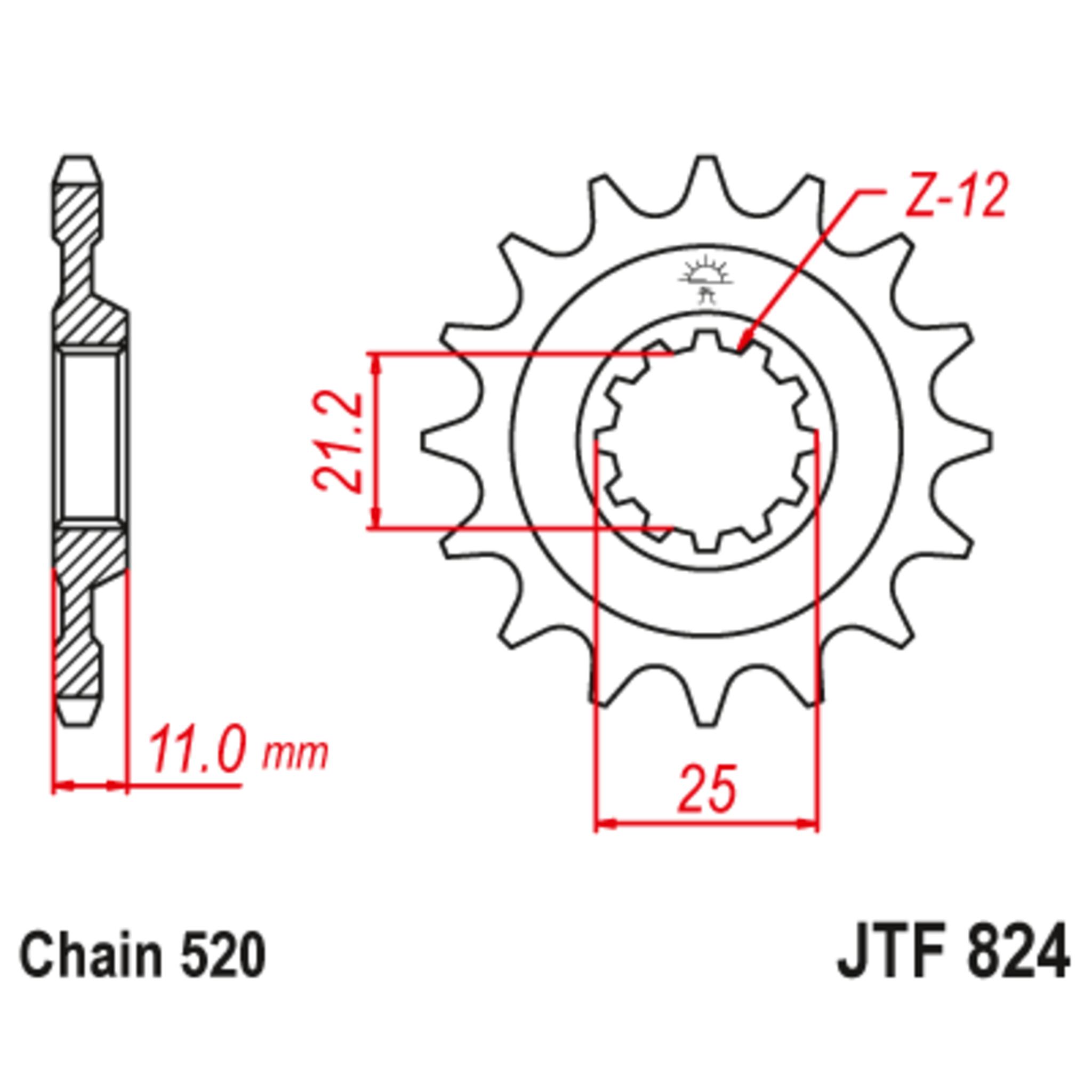 Звезда ведущая , JT 824.15