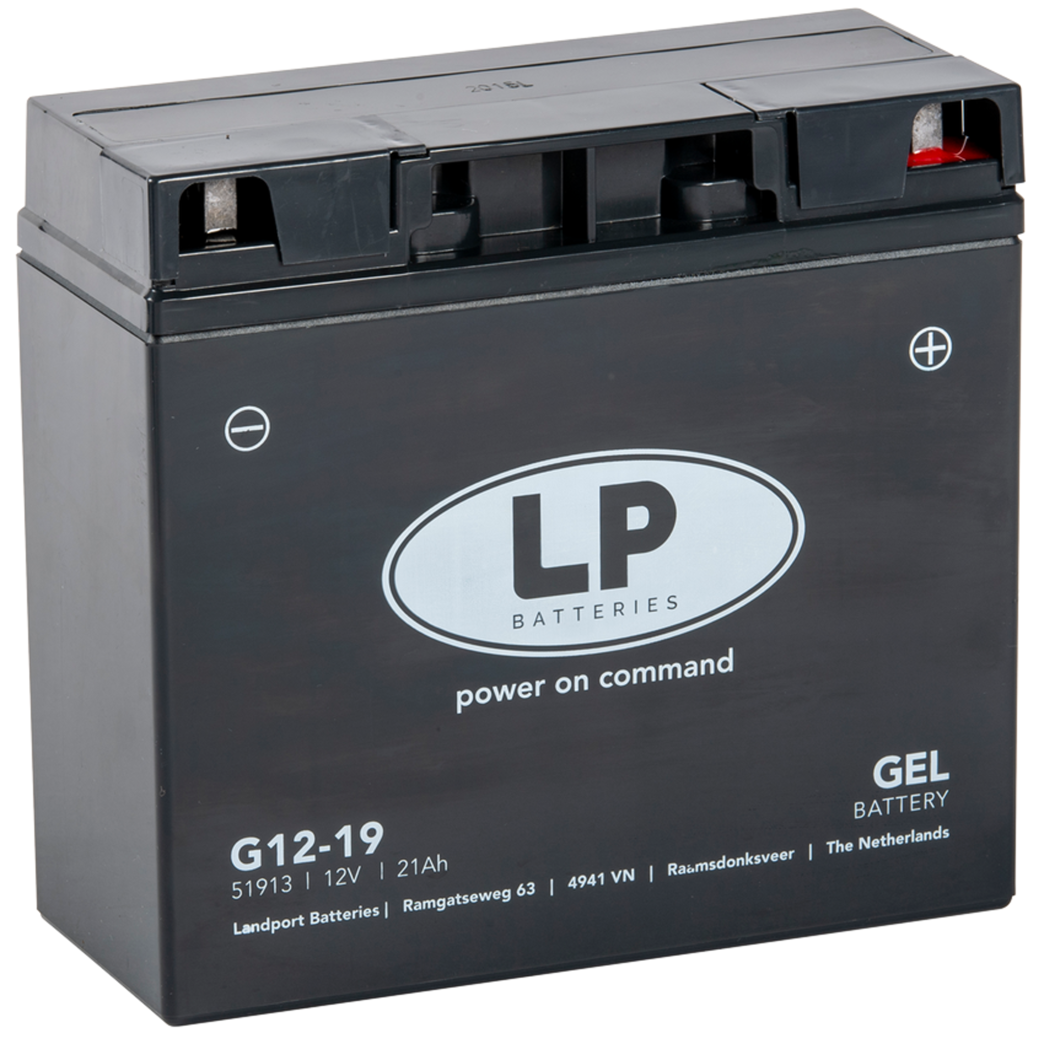 Аккумулятор Landport G12-19, 12V, GEL