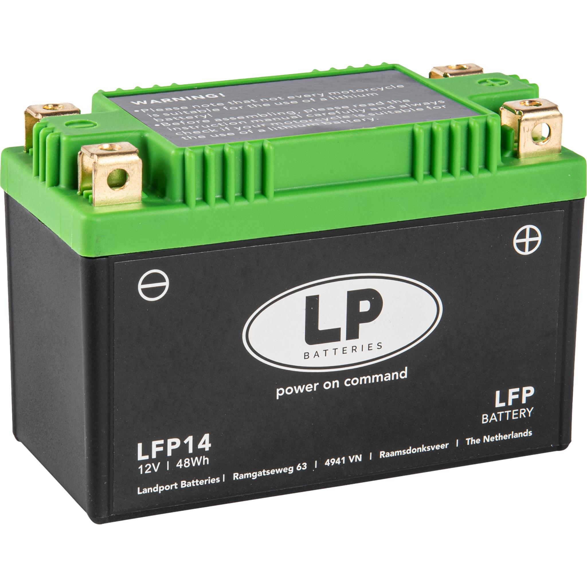 Аккумулятор Landport LFP14, 12V, Литий-ионный