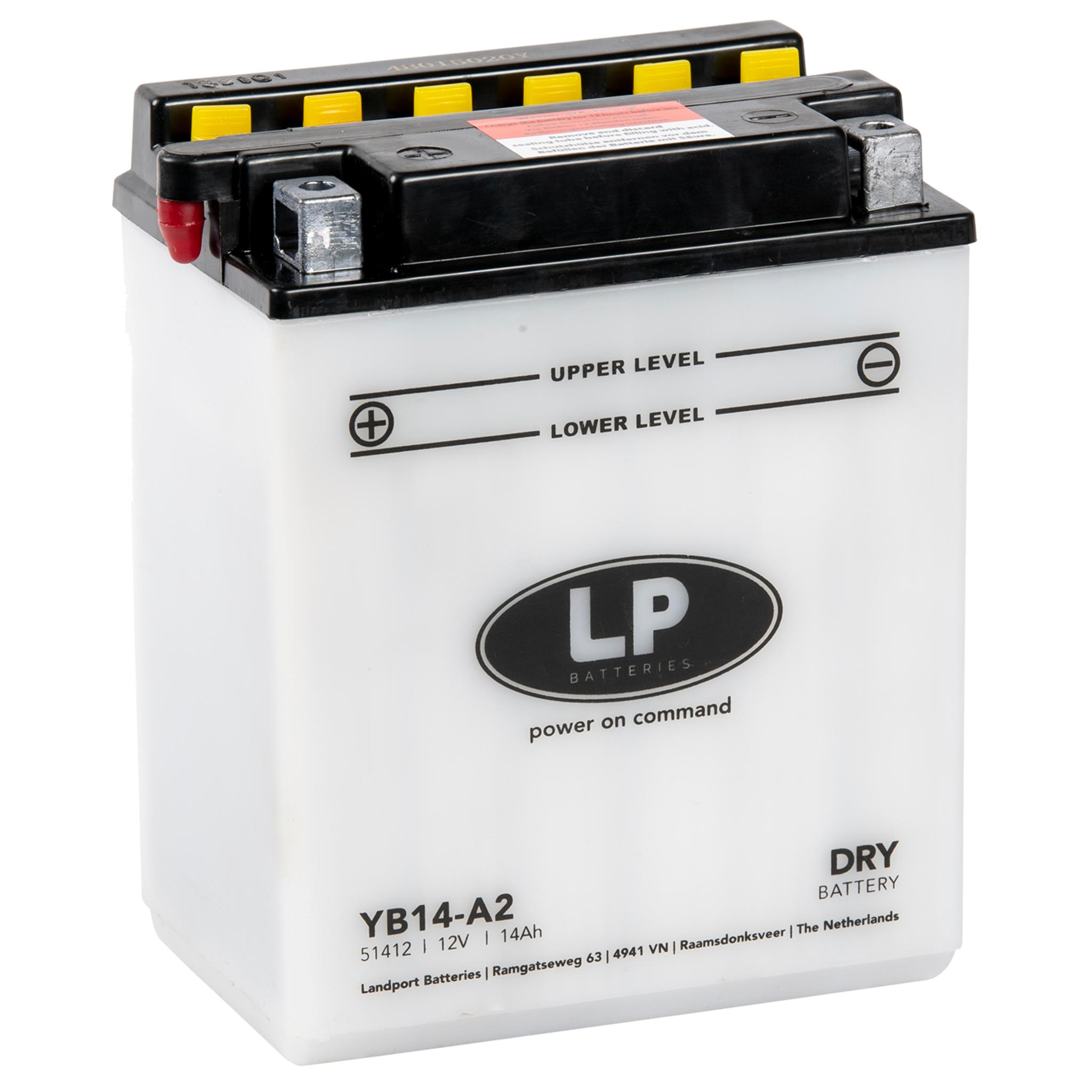 Аккумулятор Landport YB14-A2, 12V, DRY