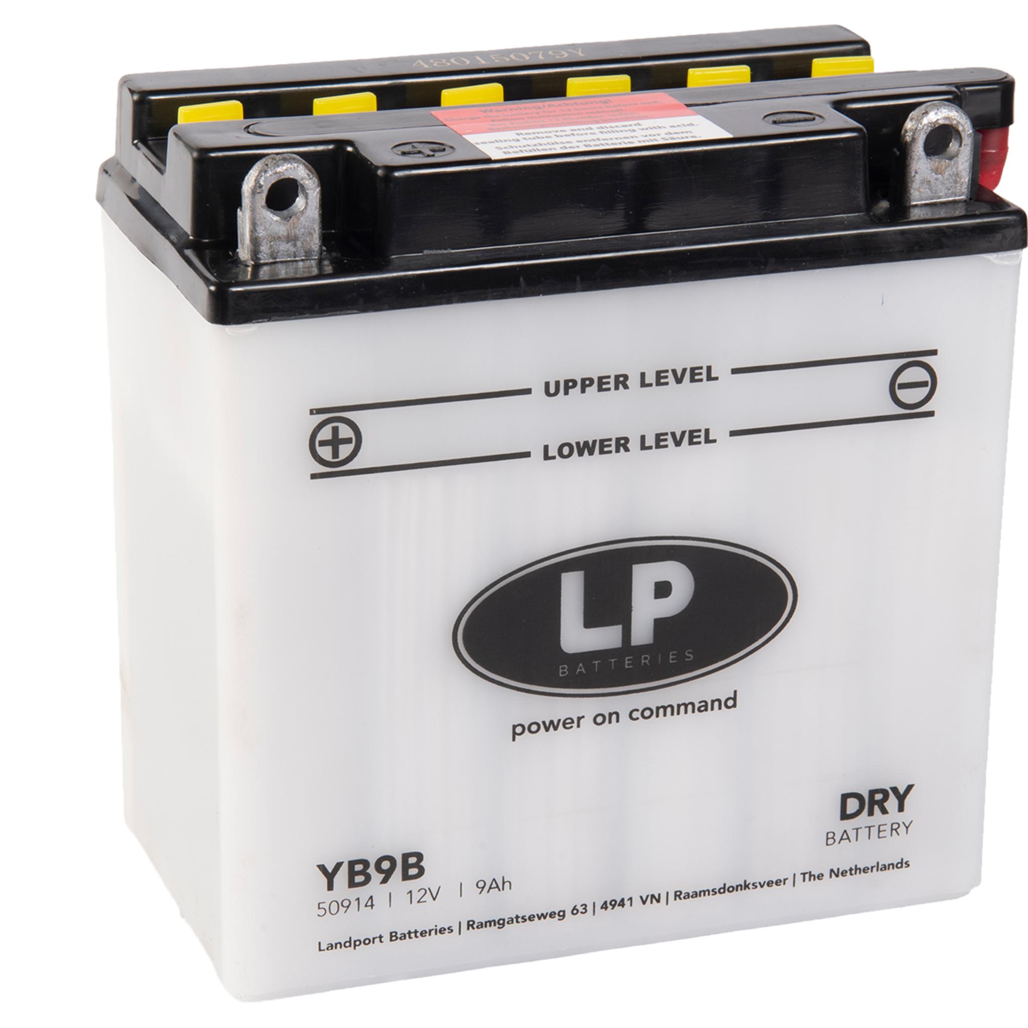 Аккумулятор Landport YB9-B, 12V, DRY