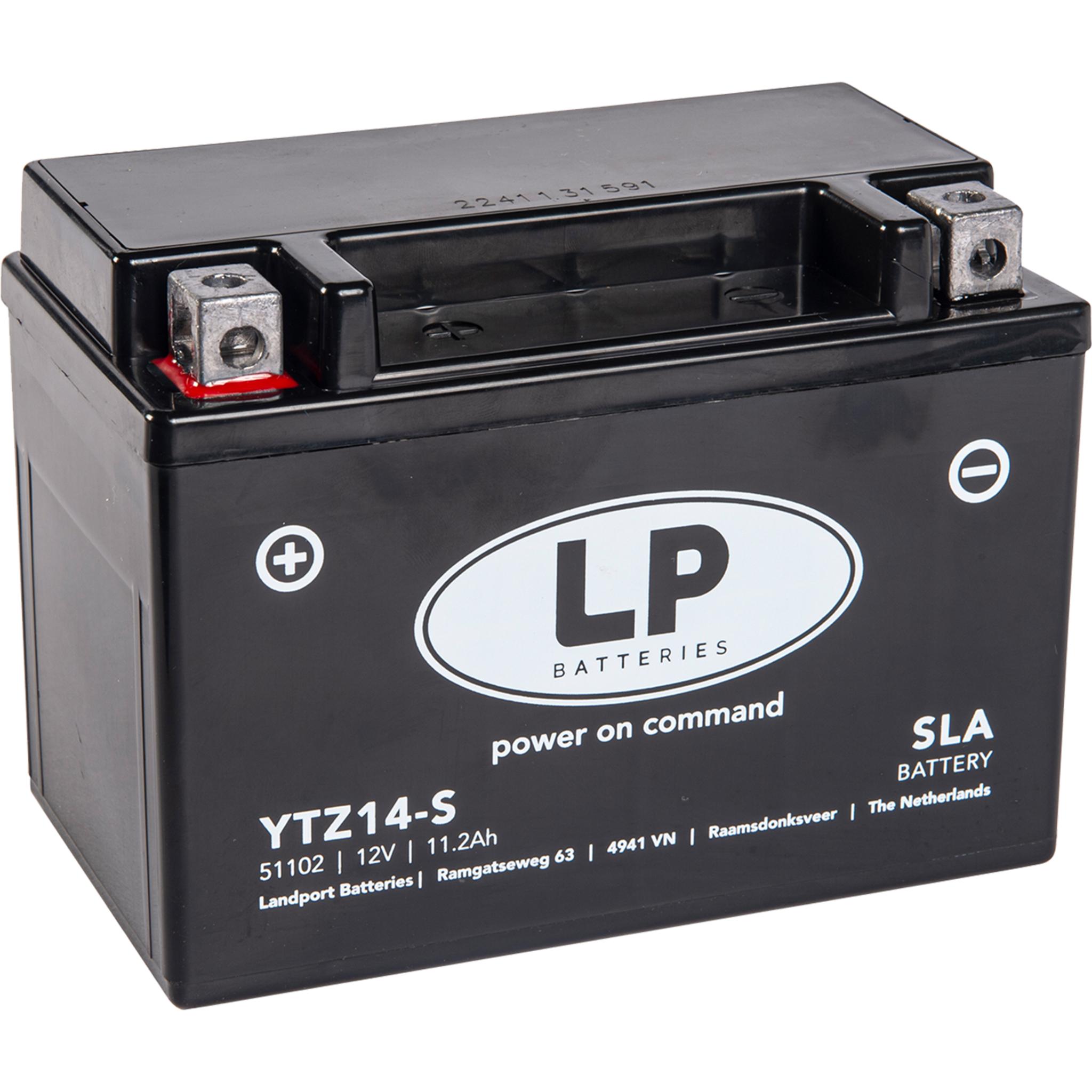 Аккумулятор Landport YTZ14S, 12V, SLA
