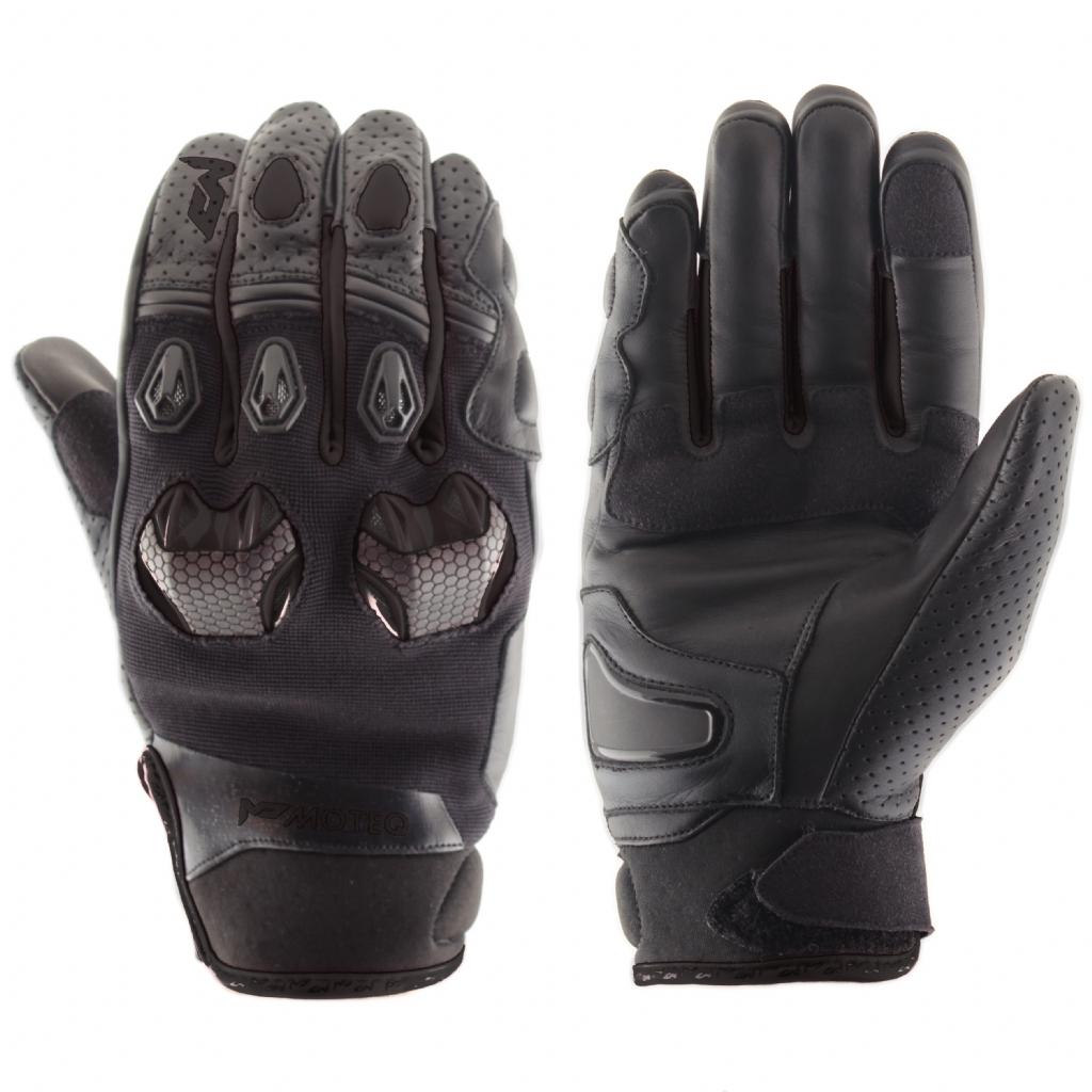Кожаные перчатки Stinger черные