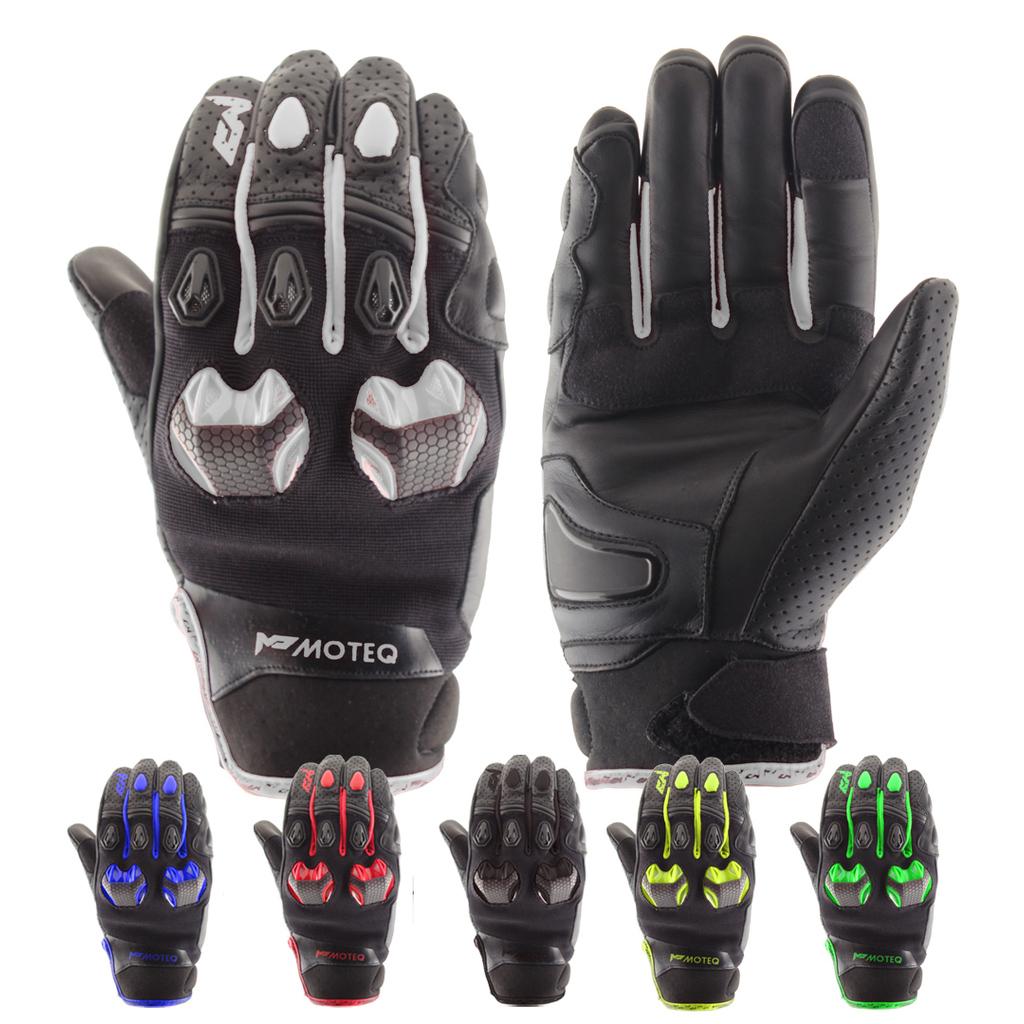 Перчатки мотоциклетные MOTEQ Stinger 4 клапана вентиляции, мужской(ие)