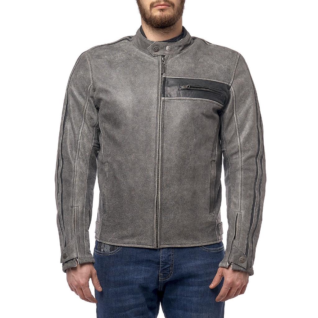 Куртка кожаная  MOTEQ DEFENDER, мужской(ие)
