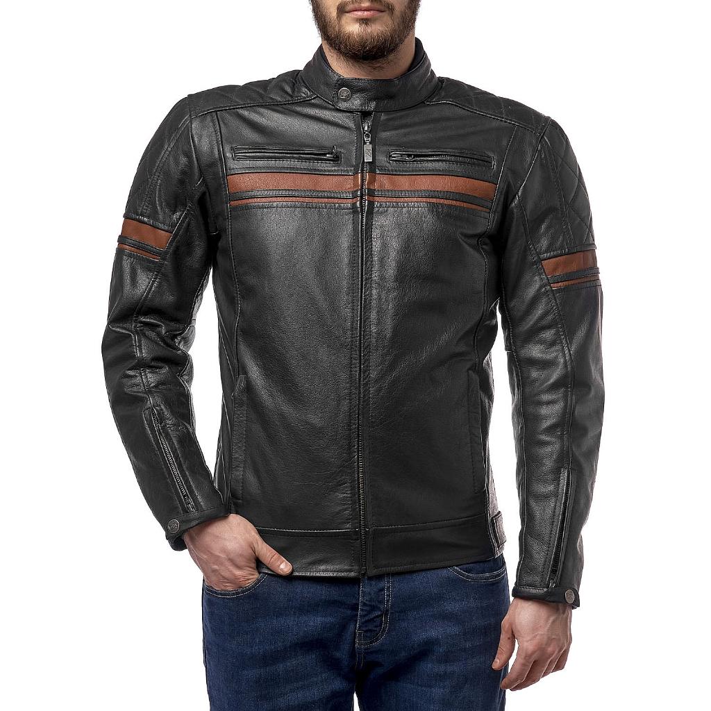 Куртка кожаная  MOTEQ Challenger, мужской(ие)