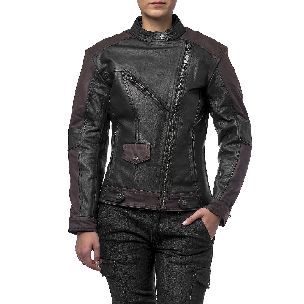 Куртка кожаная  MOTEQ Teacher WAX, женский
