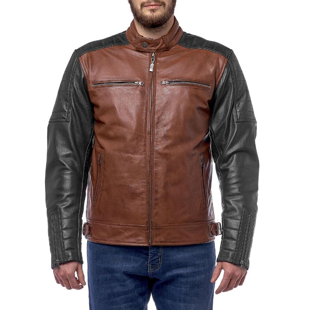 Куртка кожаная  MOTEQ Bravo 7, мужской(ие)