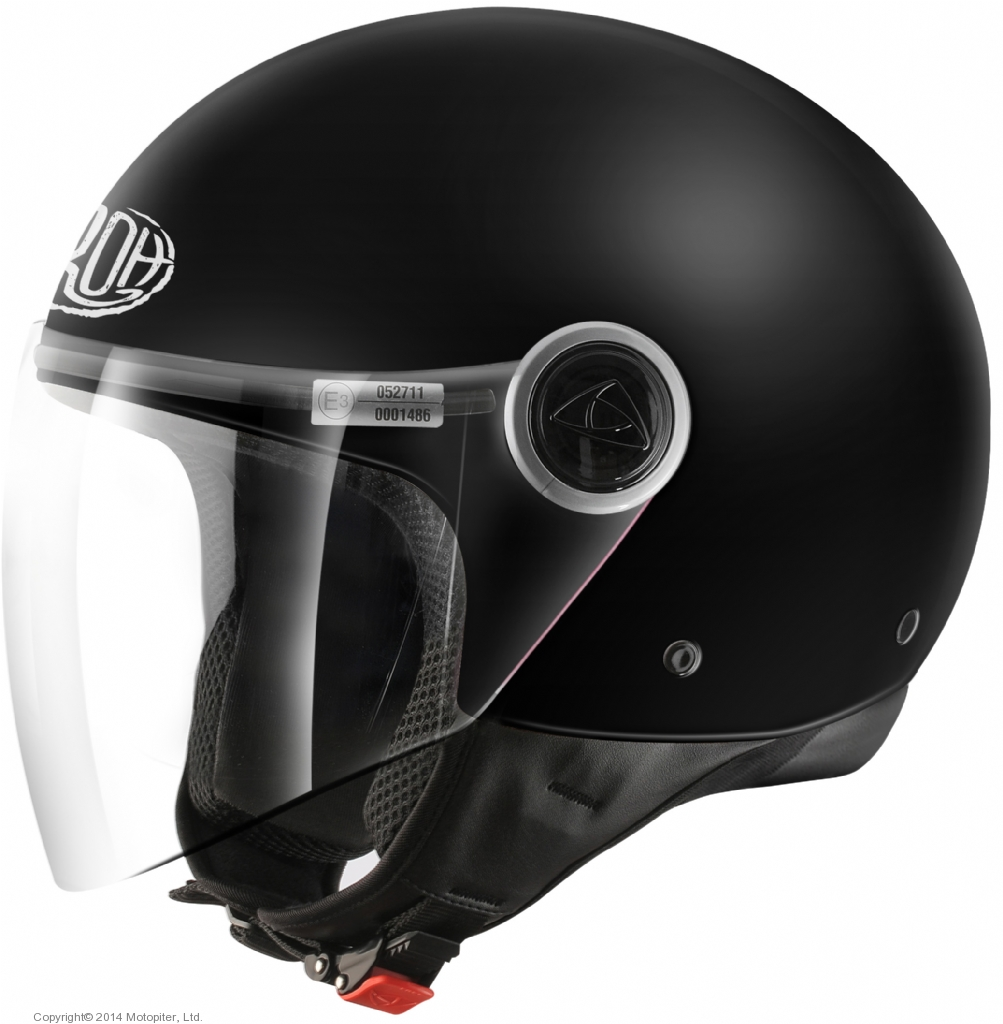 Открытый шлем MALIBU черный матовый