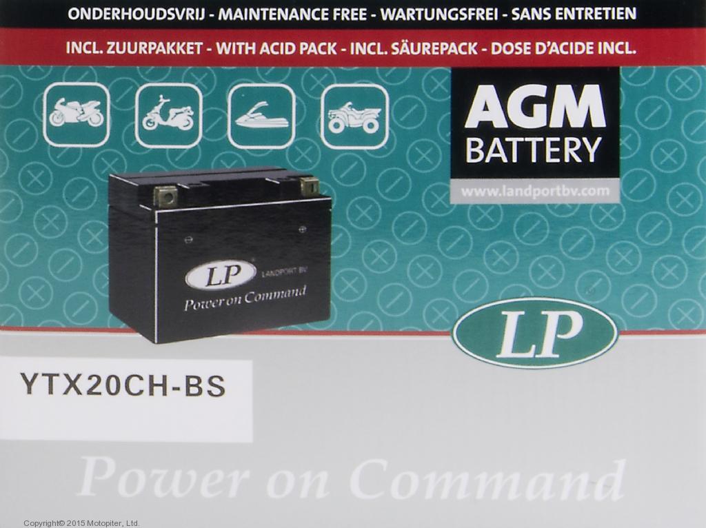 Аккумулятор AGM YTX20CH-BS