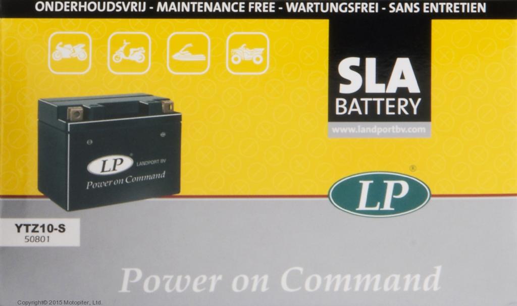 Аккумулятор SLA герметизированный YTZ10S